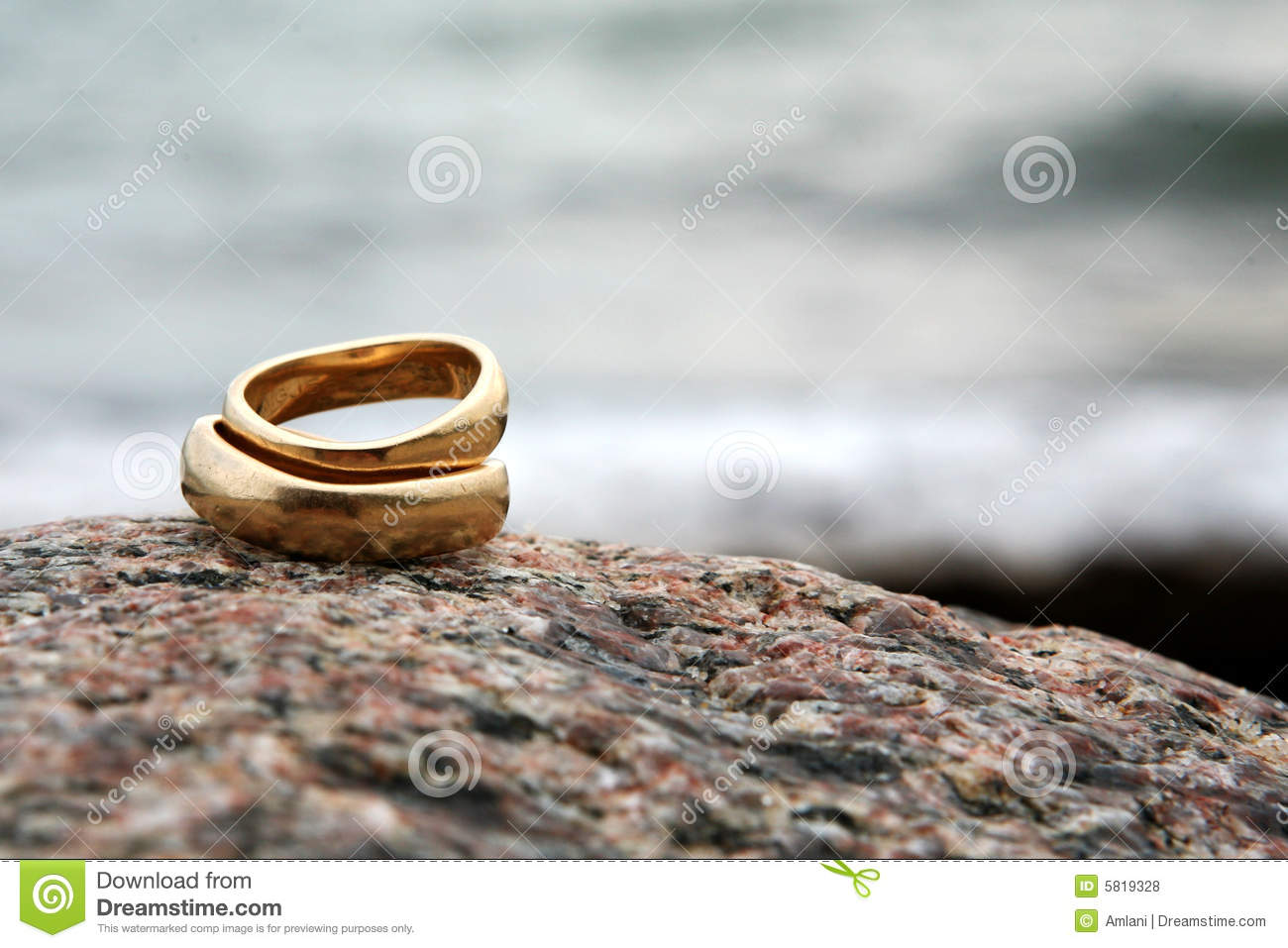 Wedding Rings Stock Photo Image Of Background Gold Pair