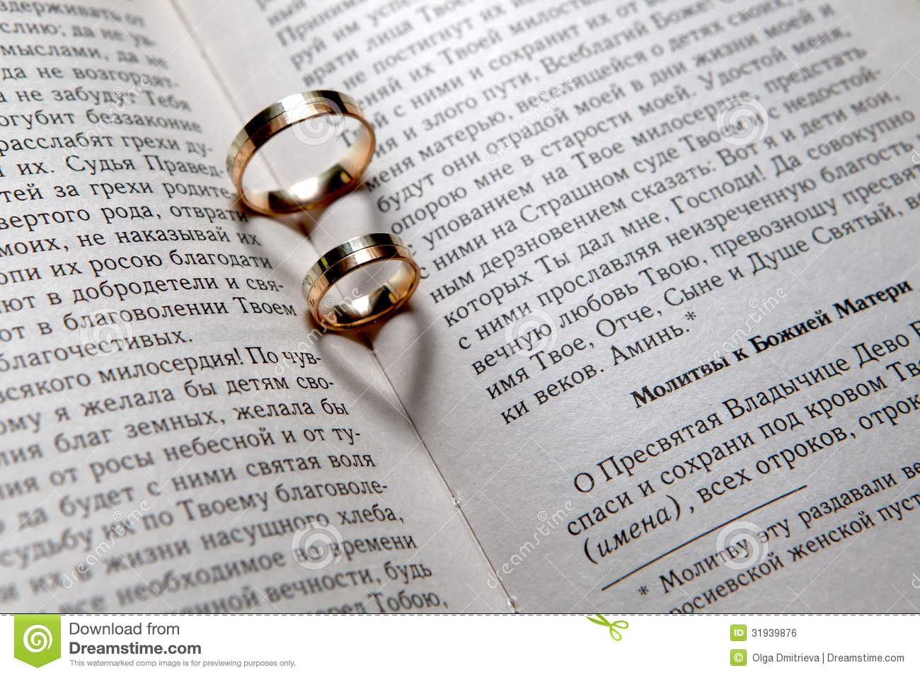Wedding rings in Bible stock photo Image of book christianity