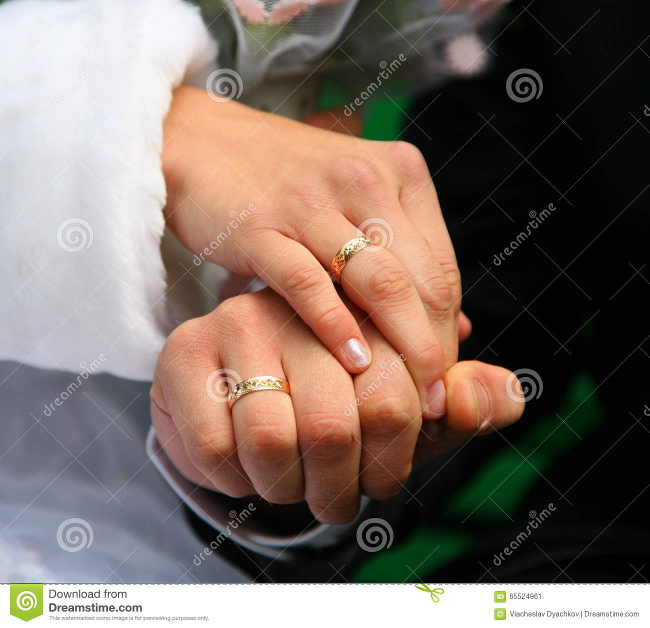 Wedding Rings Bride And Groom. Wedding Rings. Loving ...