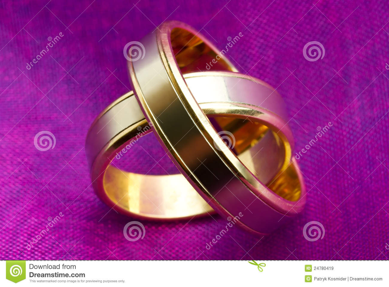 royalty free stock images wedding rings close up image purple wedding rings Wedding rings close up