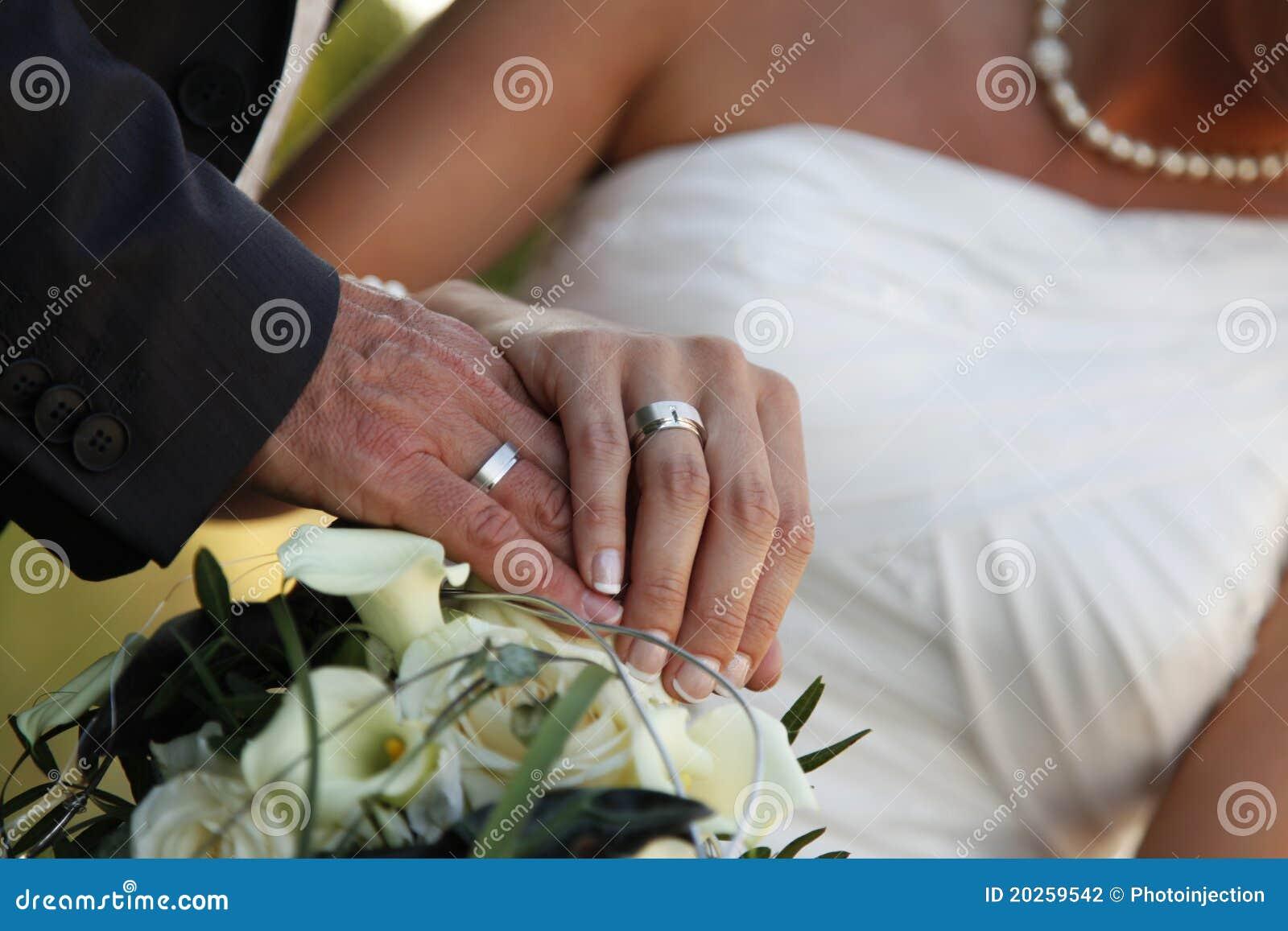 wedding ring hand germany