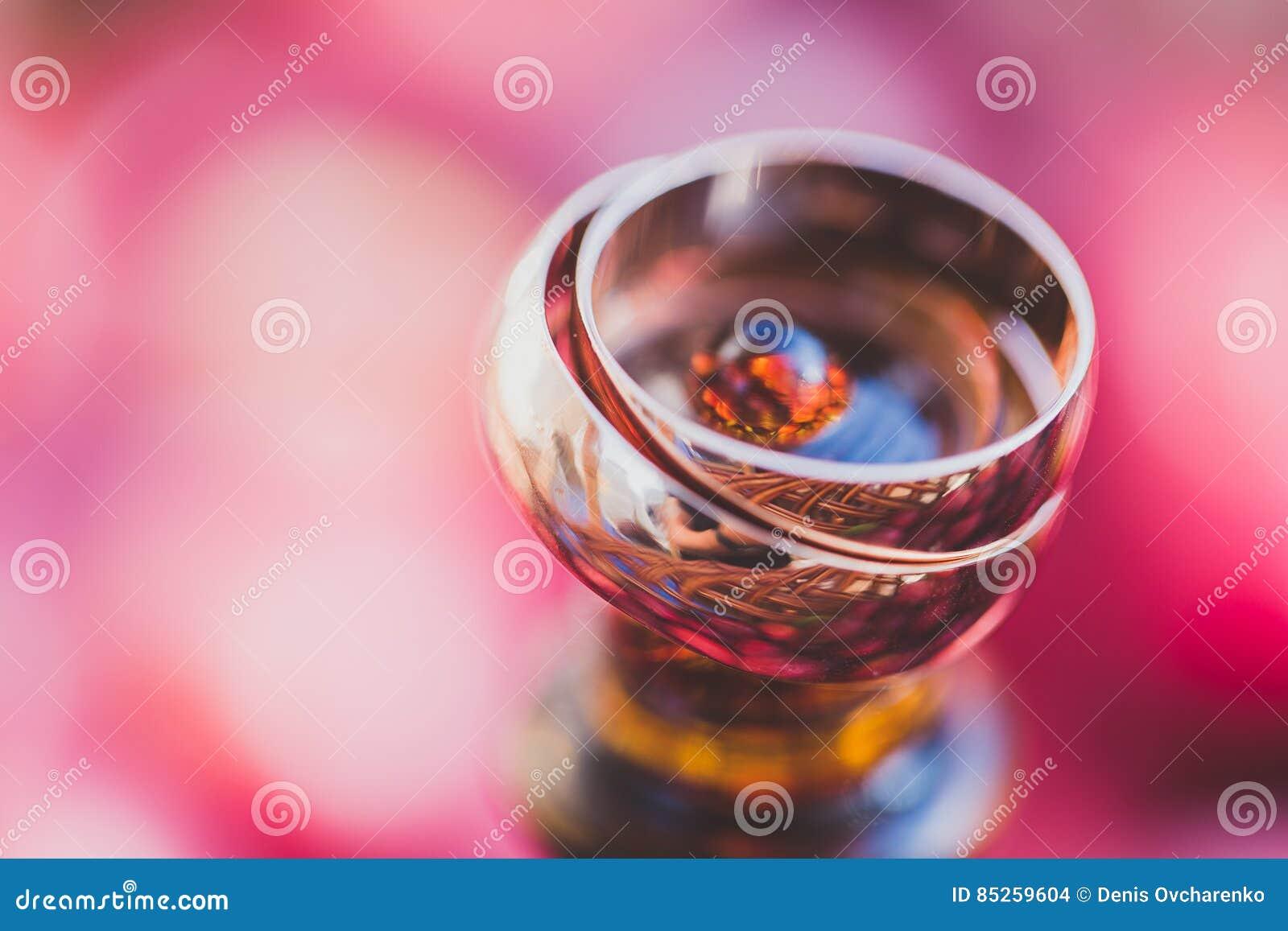 Wedding Rings. Symbols, Attributes. Holiday, Celebration. With Blur ...