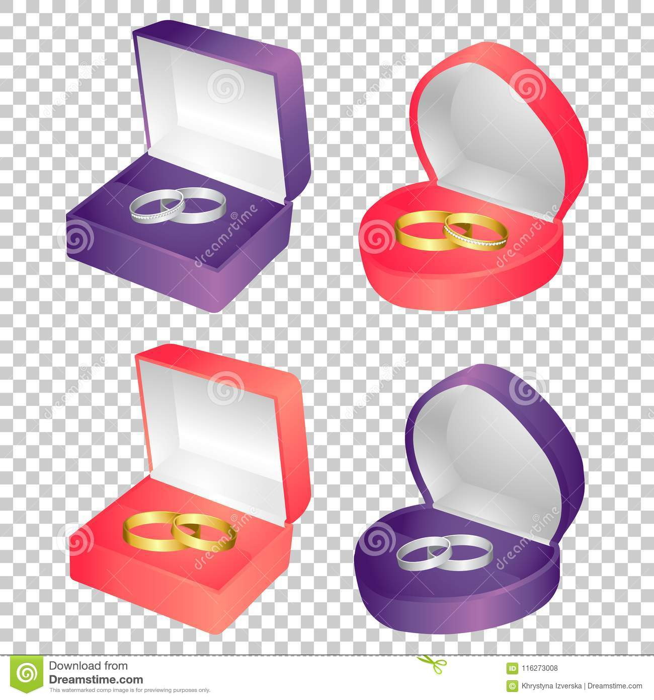 Wedding Rings Vector Stock Illustration Illustration Of Jewel