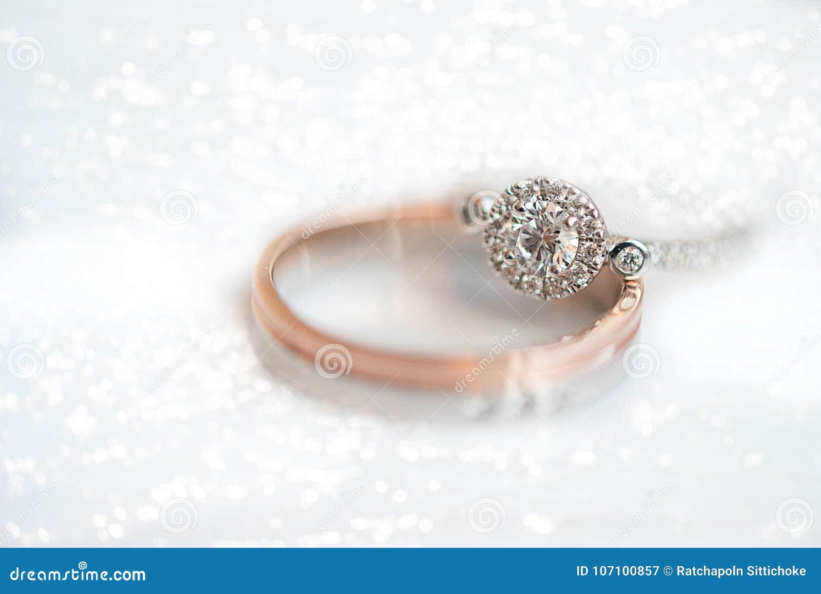 Wedding Ringtwo Wedding Rings Gold Wedding Stock Image Image Of