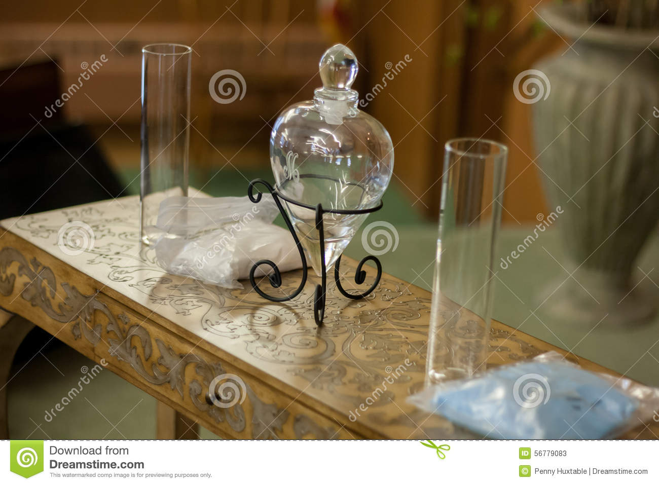 Wedding sand ceremony with glass heart vase stock image image royalty free stock photo reviewsmspy