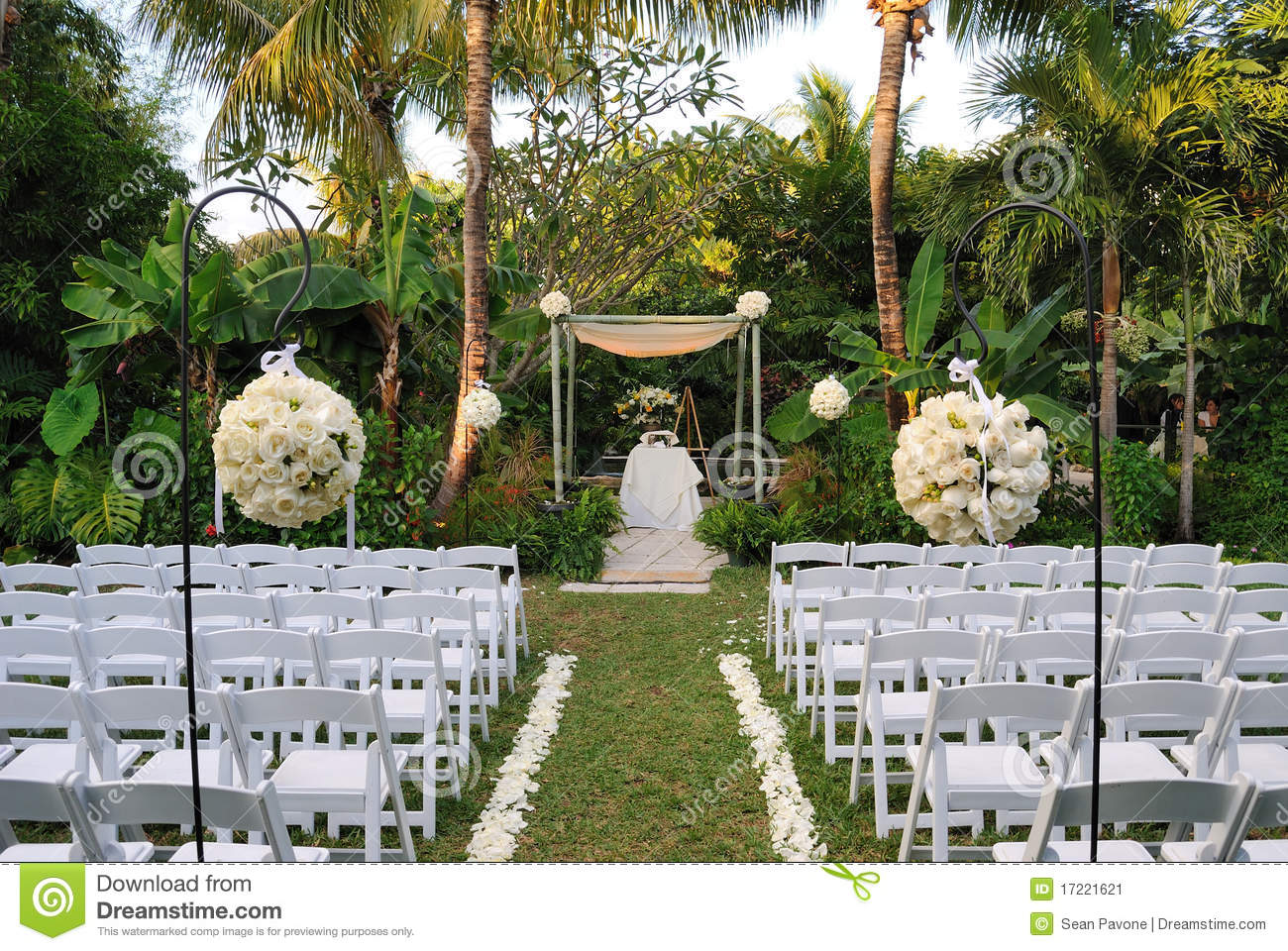 Wedding Scene Stock Image Image 17221621