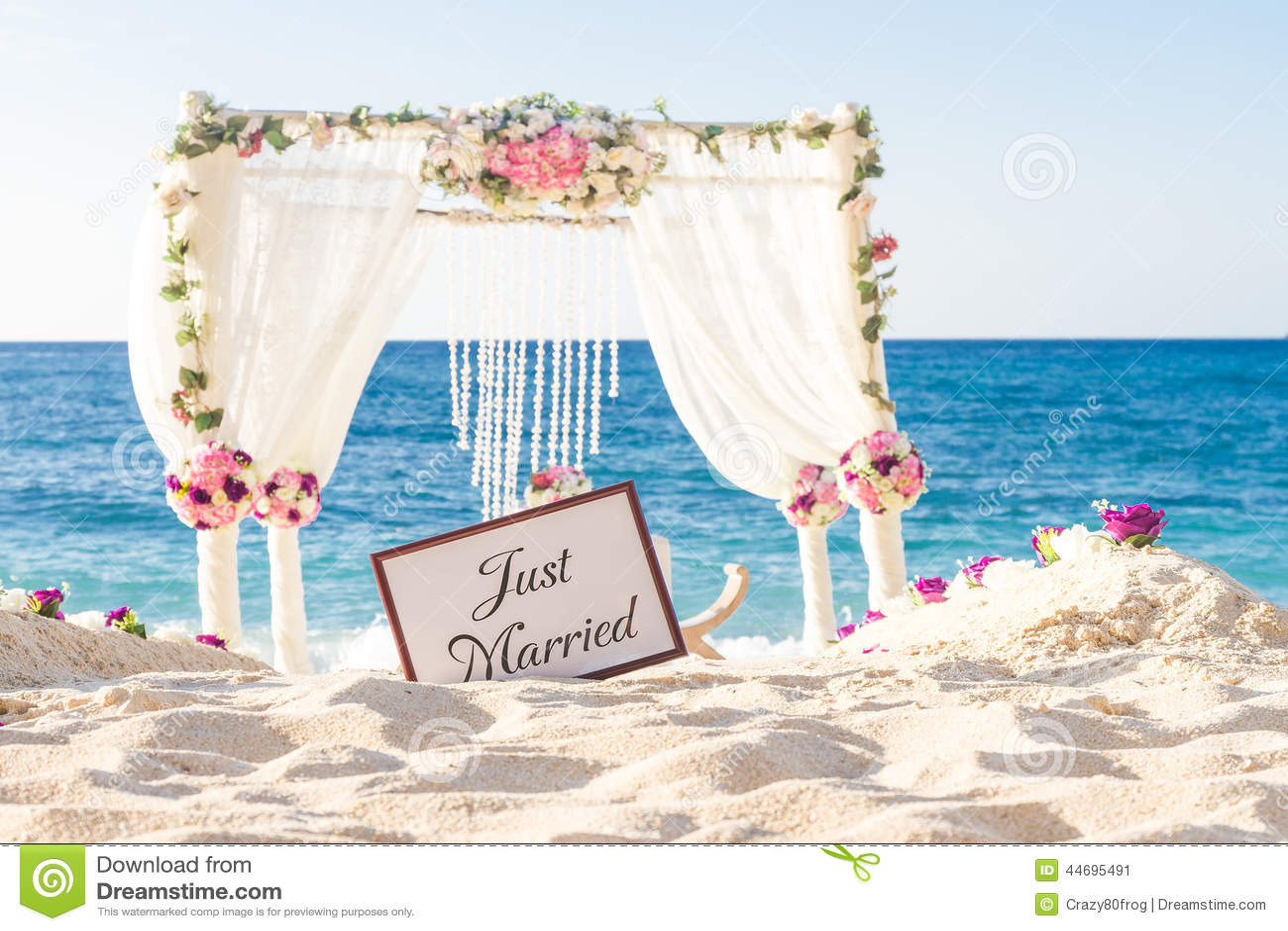 Wedding Set Up Tropical Outdoor Reception Beauti