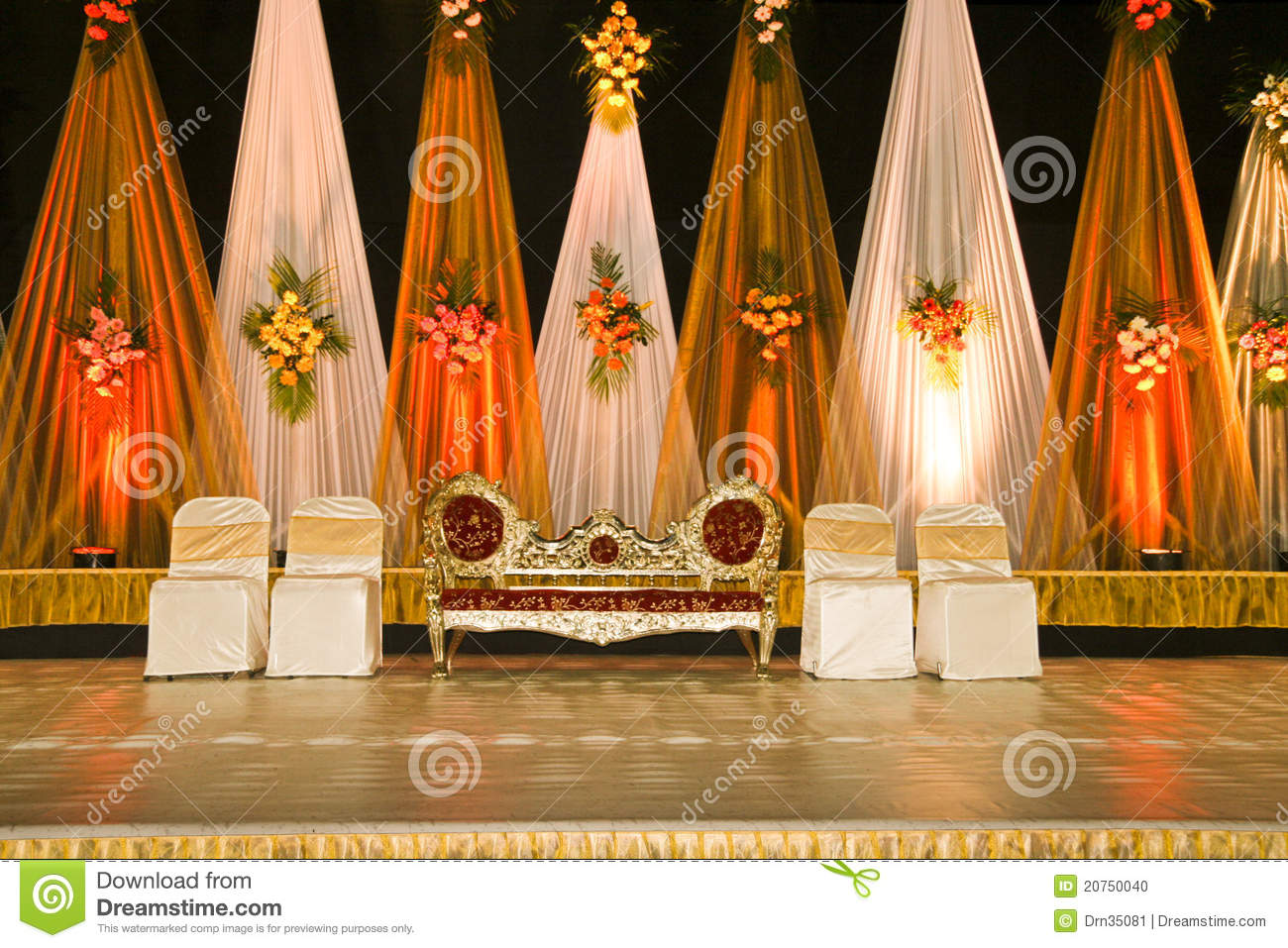 Wedding Stage 03 Stock Photo Image 20750040