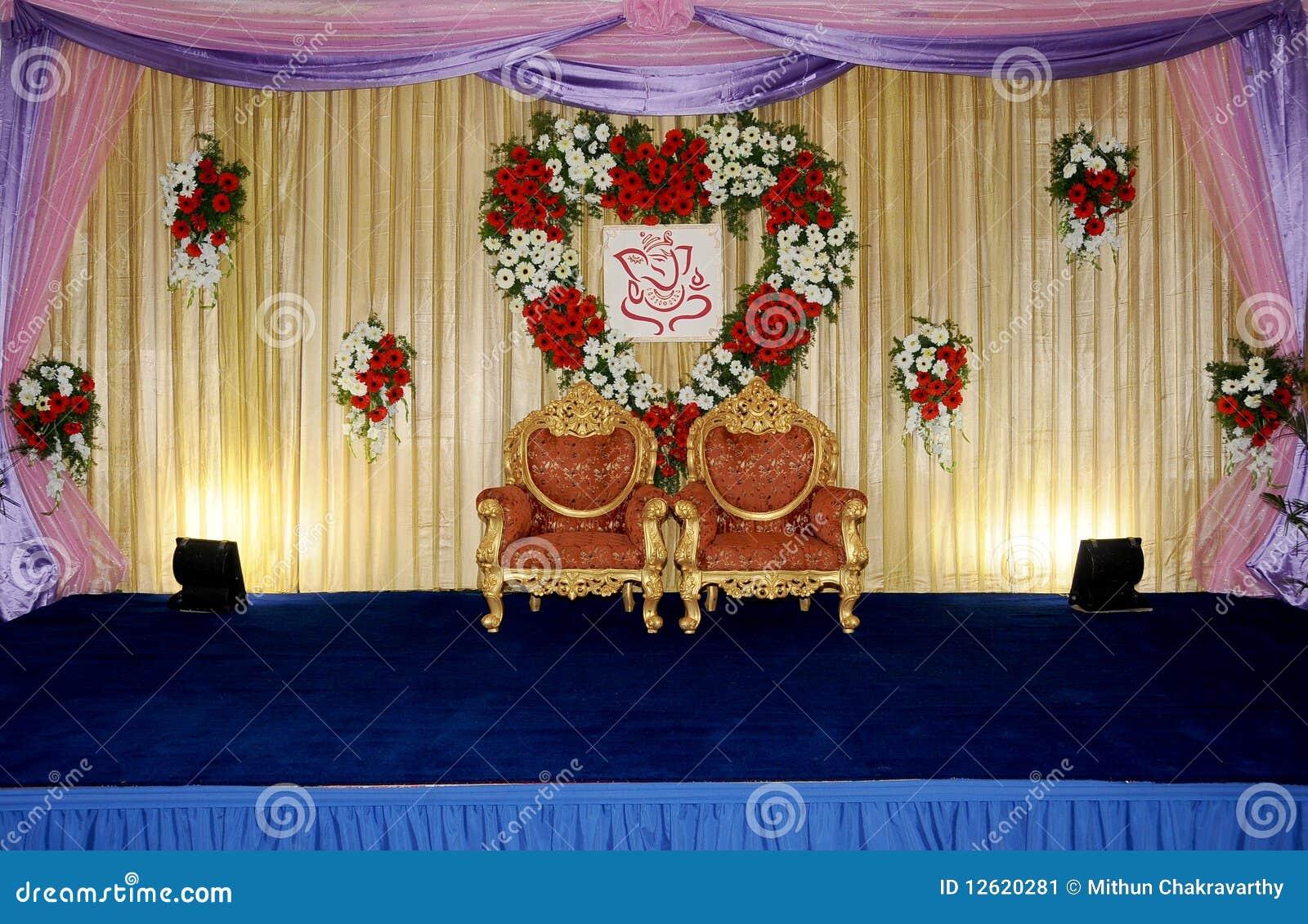 Wedding Stage Stock Image