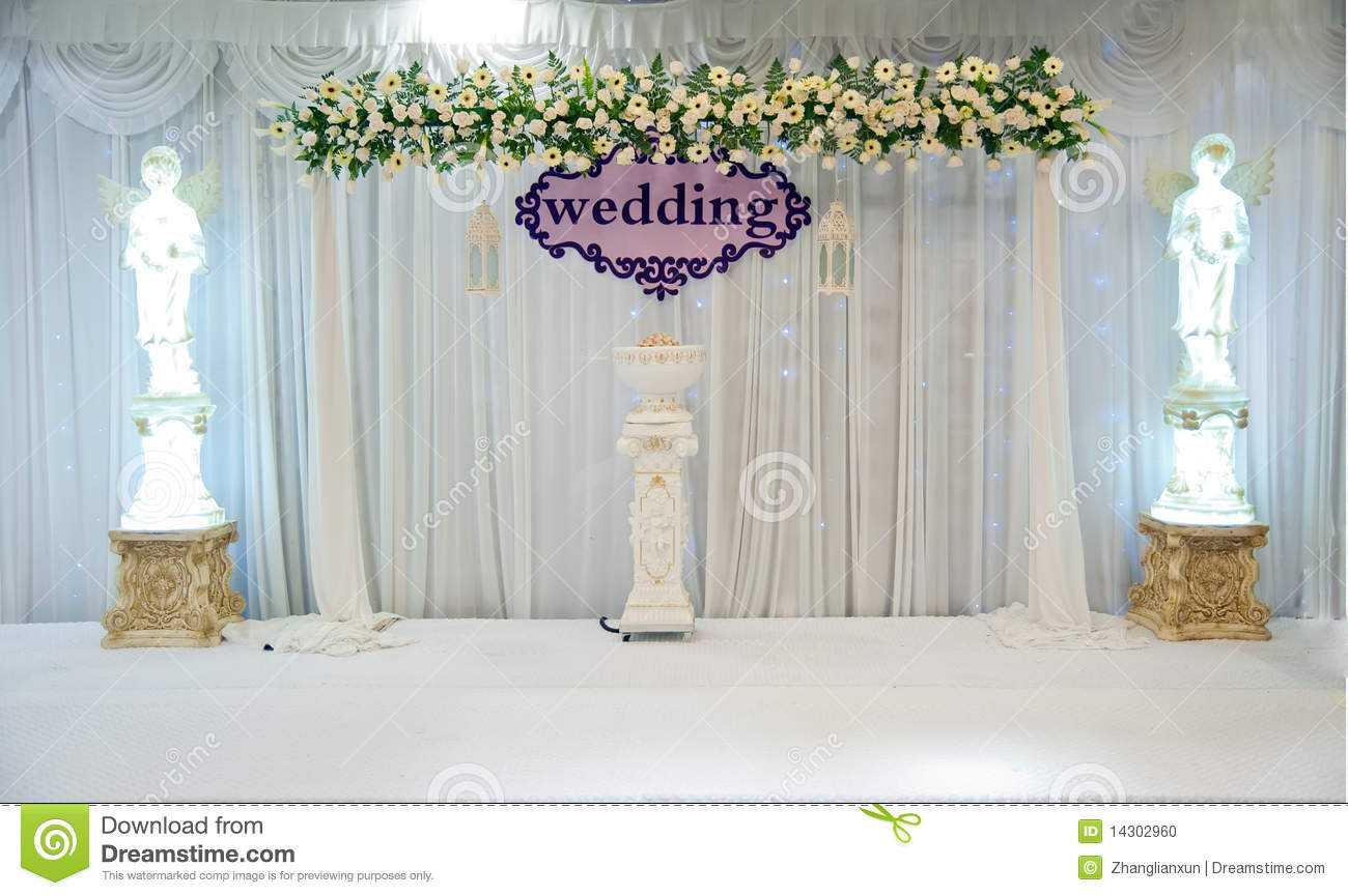 Wedding Stage Stock Photo Image Of Colorful Carpeted