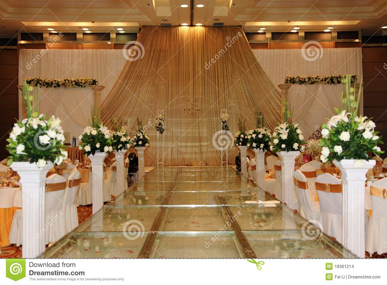 Wedding stage stock photo image of flower culture for Asian wedding stage decoration london