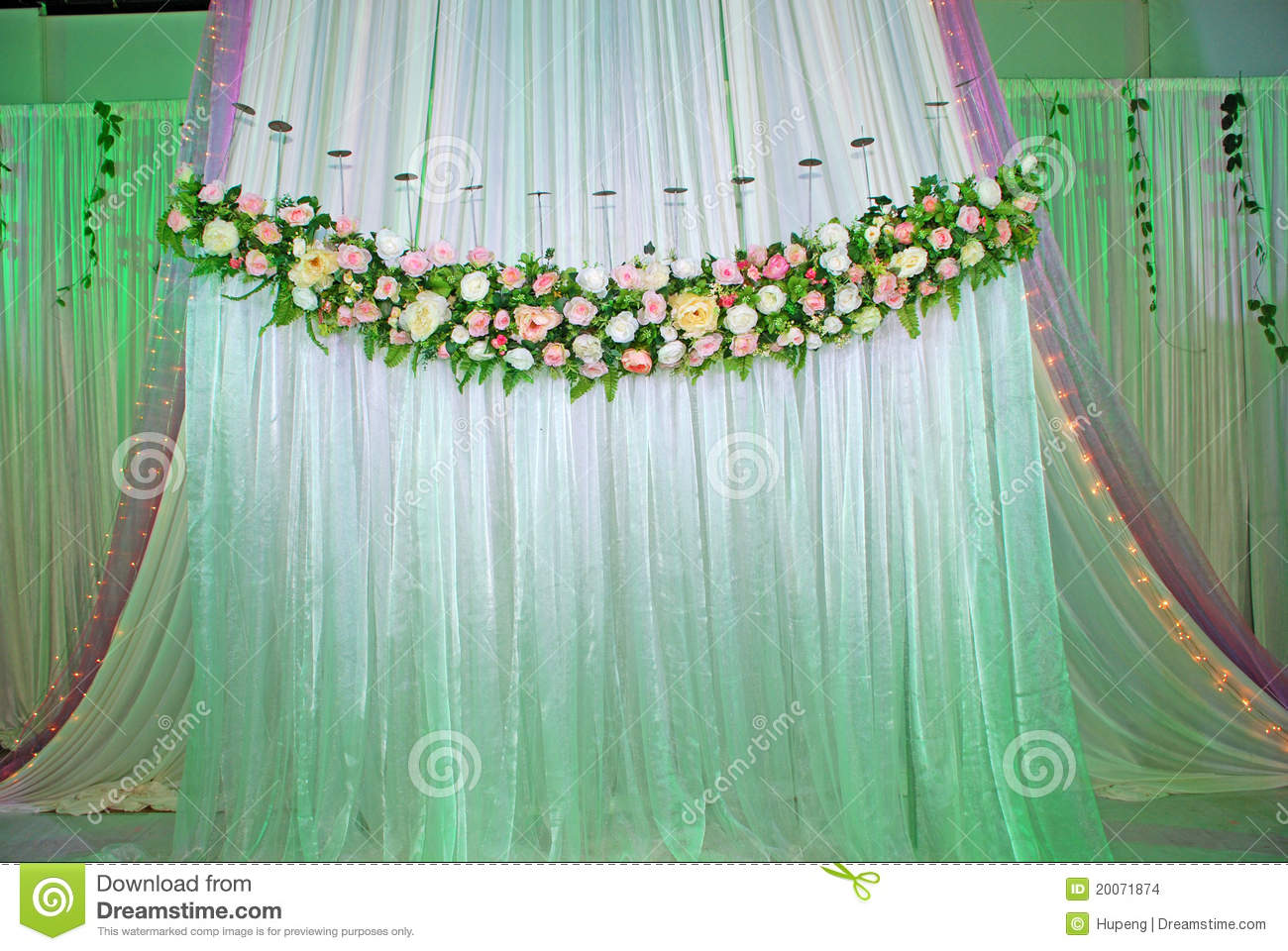 Wedding Stage Stock Photo Image Of Designing Cutlery