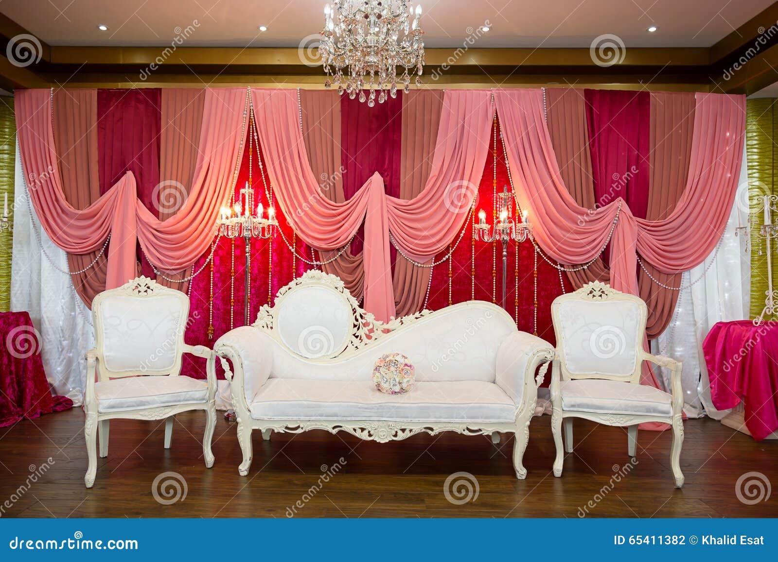 Wedding Stage Stock Photo Image Of Stage Bench Wedding