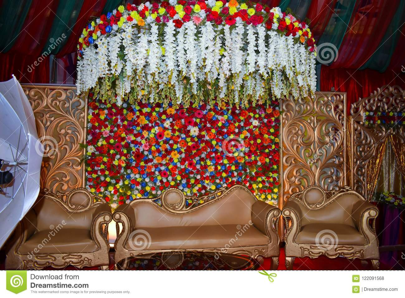 Wedding stage stock photo image of first bangladesh 122091568 download comp junglespirit Gallery