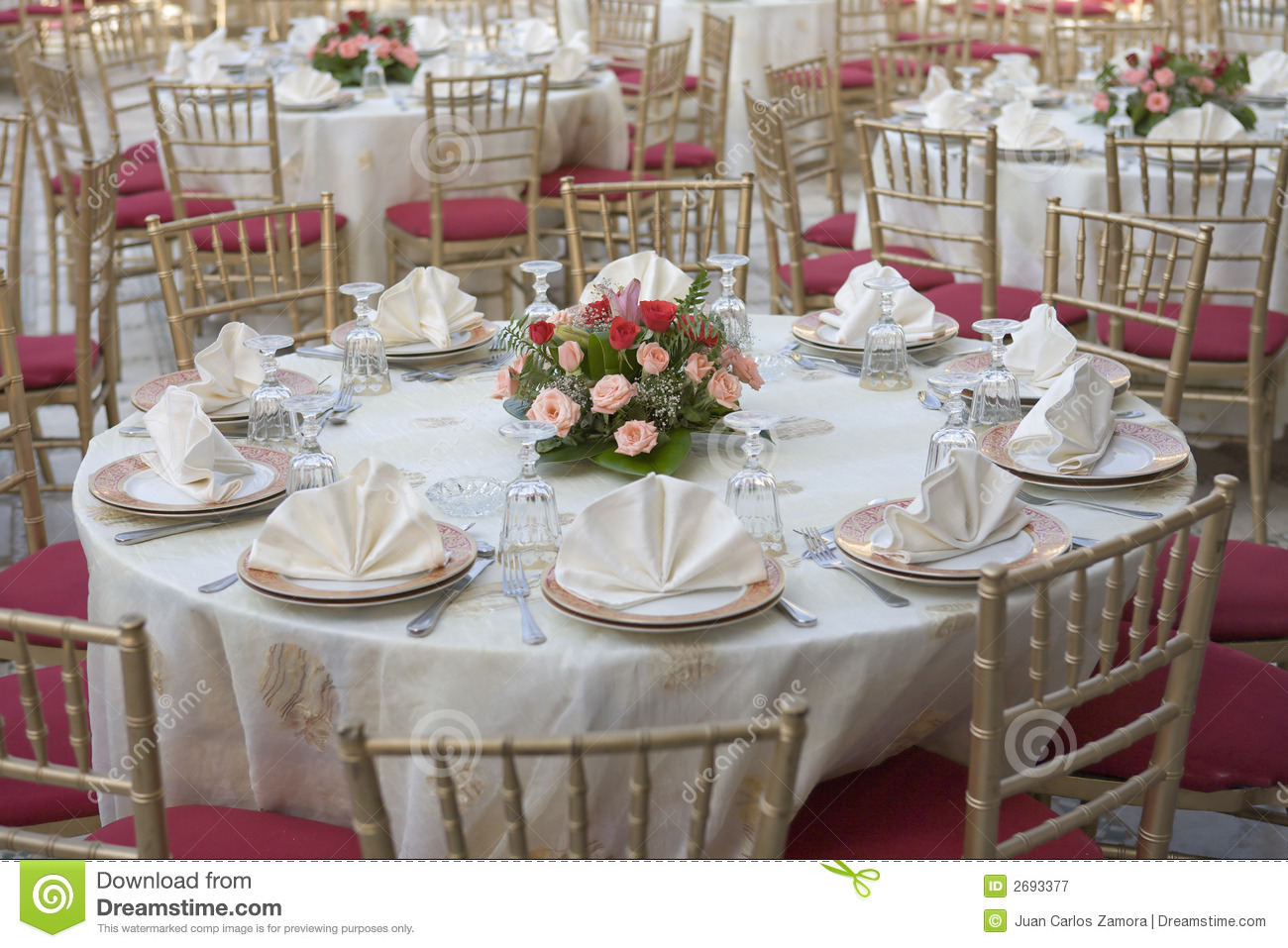 Wedding Table Royalty Free Stock Photography - Image: 2693377
