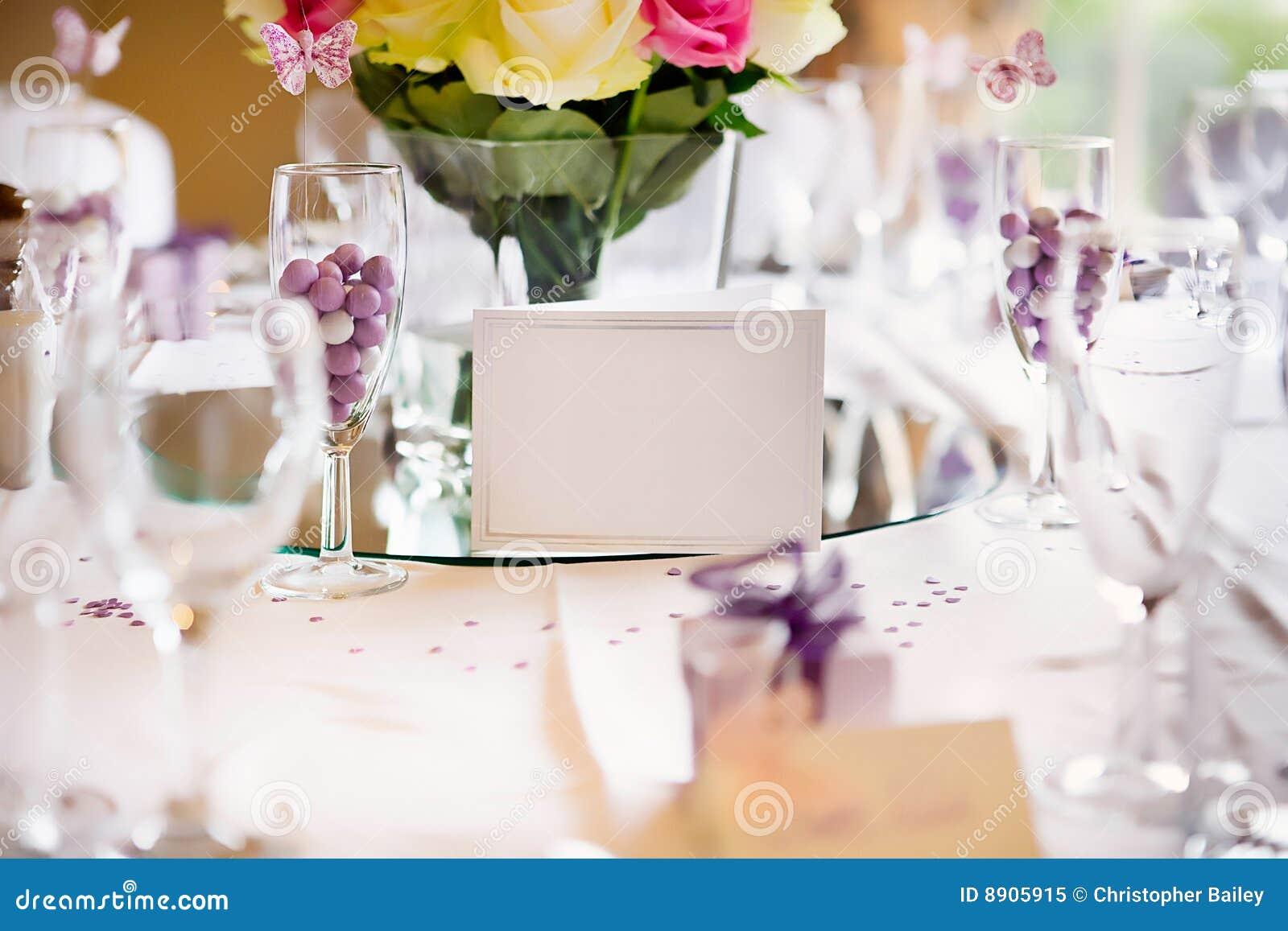 Wedding Table Card