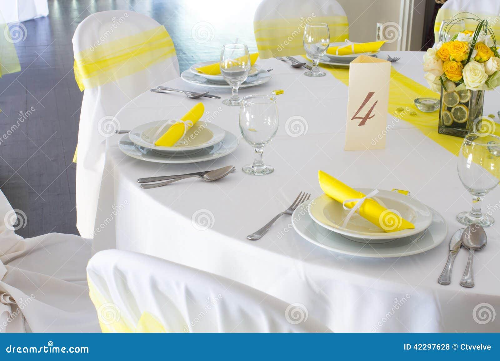 Wedding Table Decoration Stock Photo Image 42297628