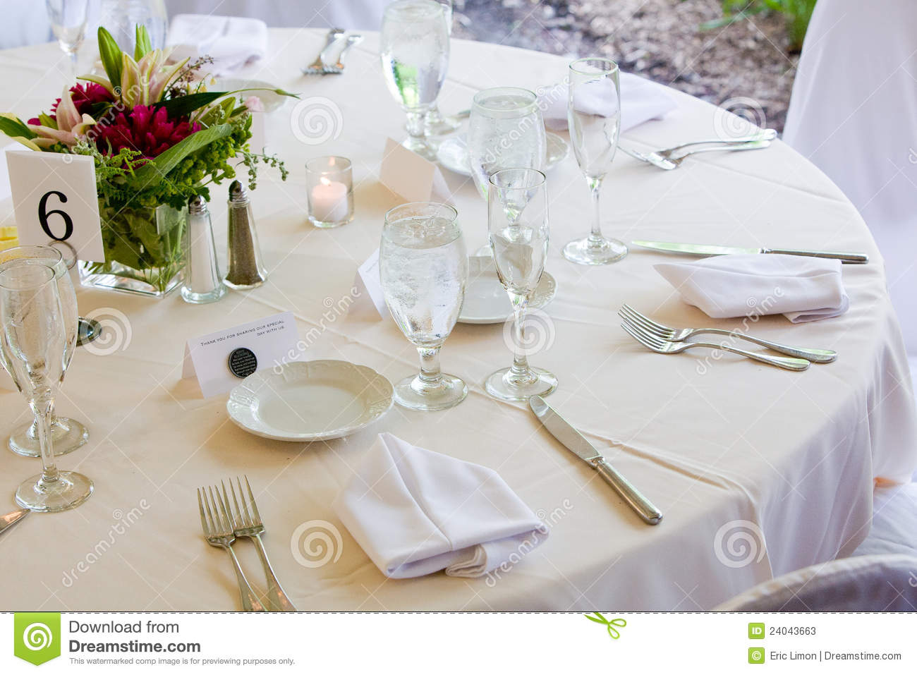 Fine Dining Table Setting Images Wedding Set For