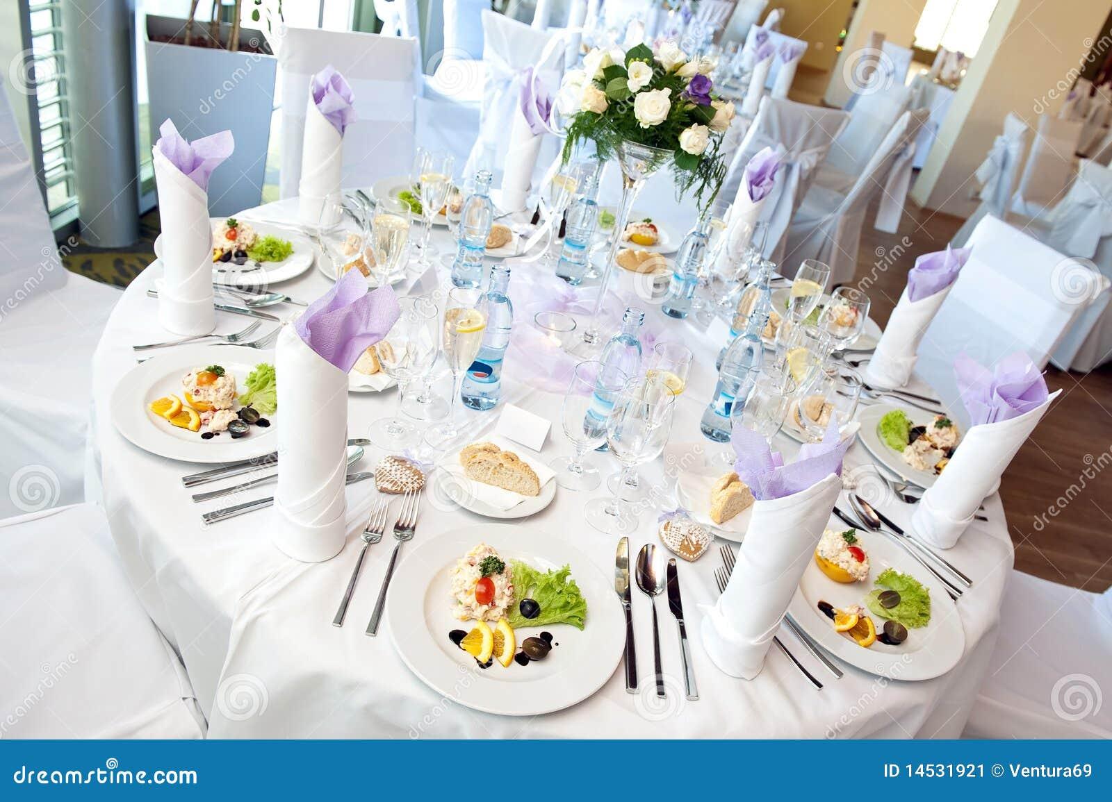 Wedding Table Setting Stock Image Image 14531921