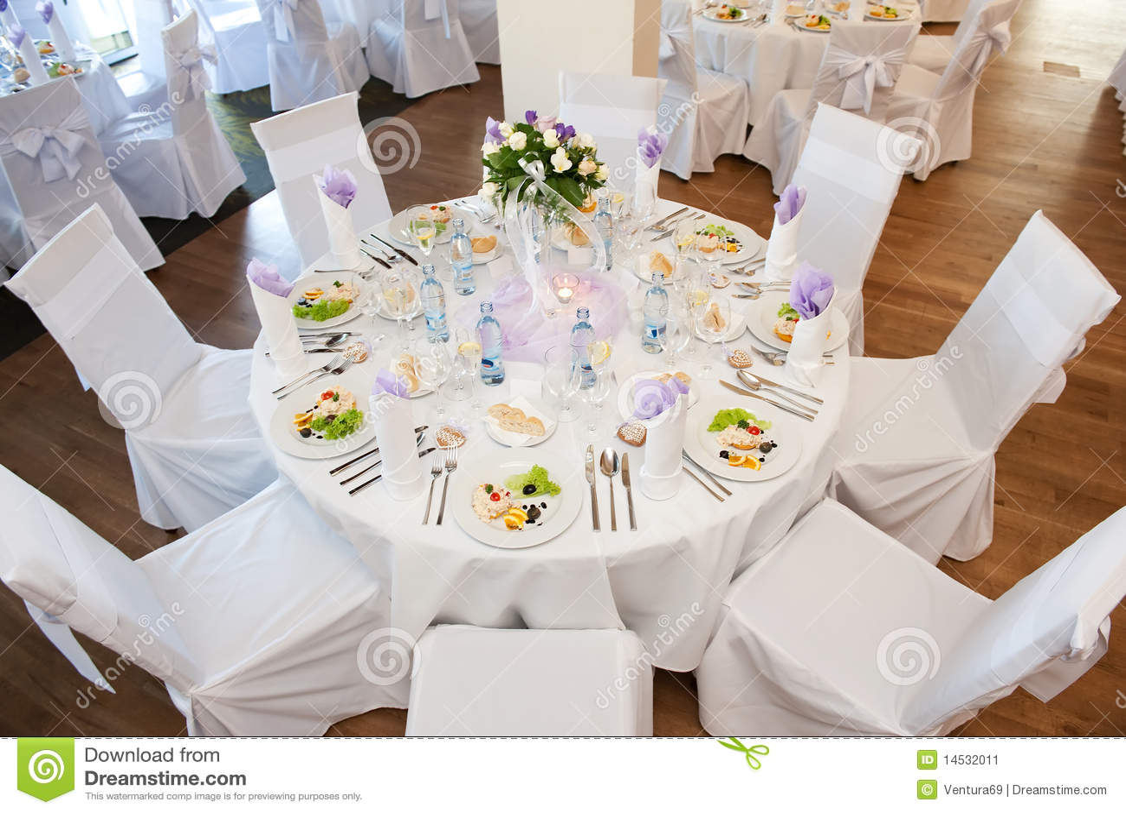 Wedding Table Setting Stock Image Image 14532011