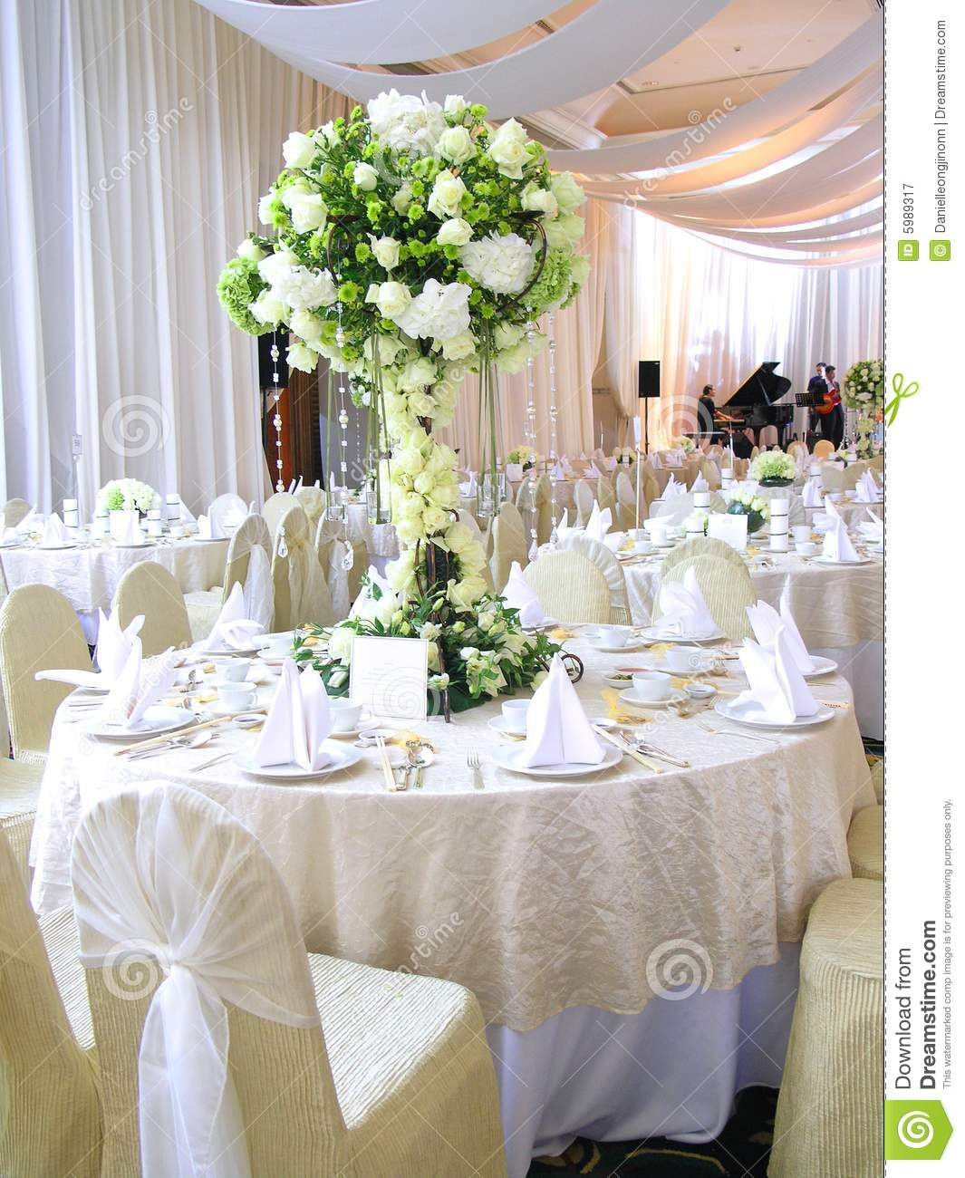 Wedding Table Setting Stock Image Image Of Cloth Cater