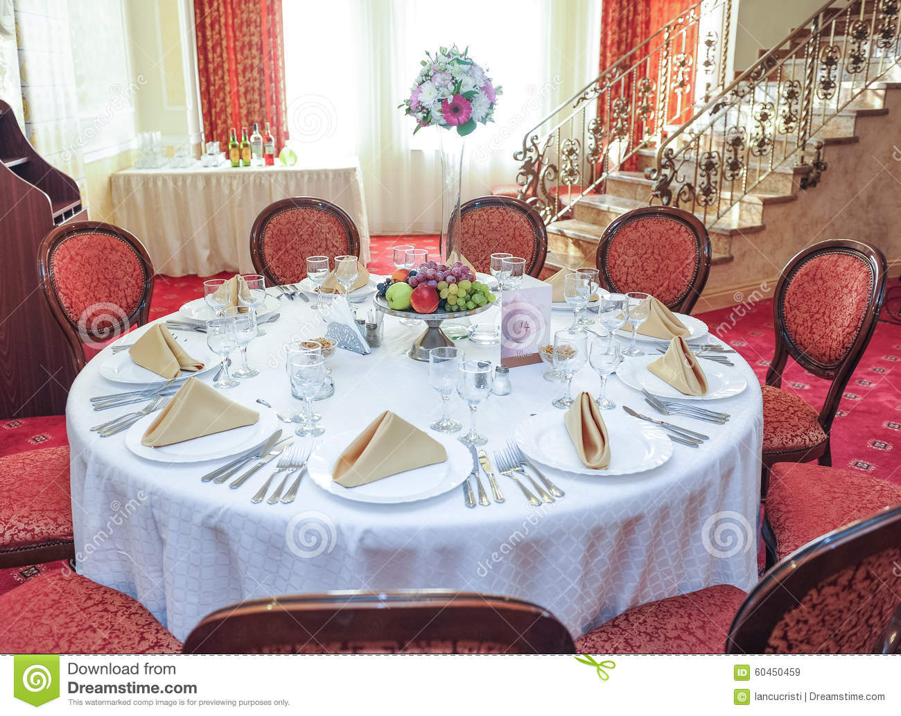 Wedding Table Setting Table Set For An Event Party Or
