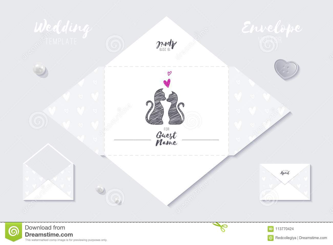 wedding template stock illustration illustration of funny 113770424