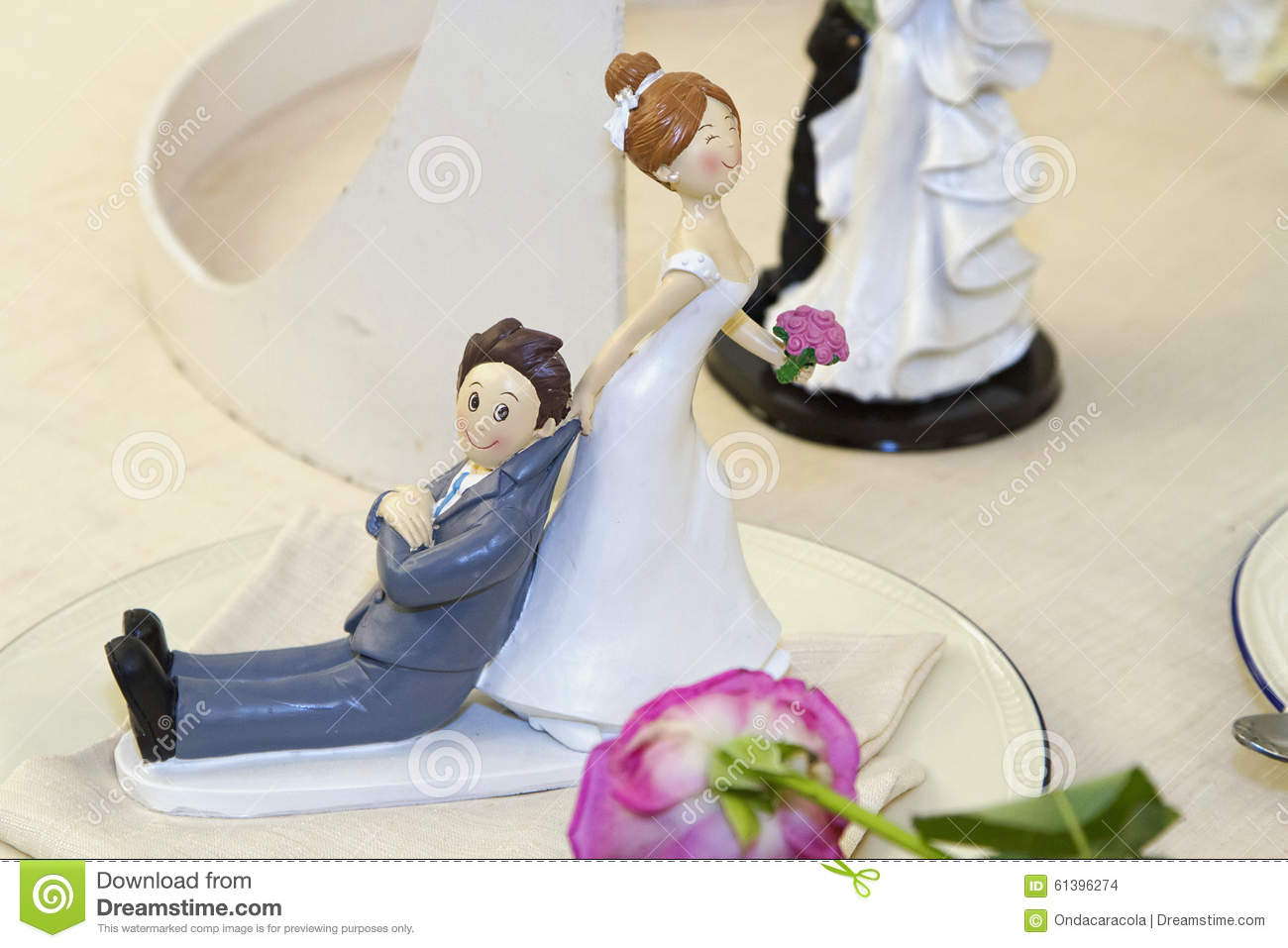 Toys For The Honeymoon : Wedding toys stock photo image