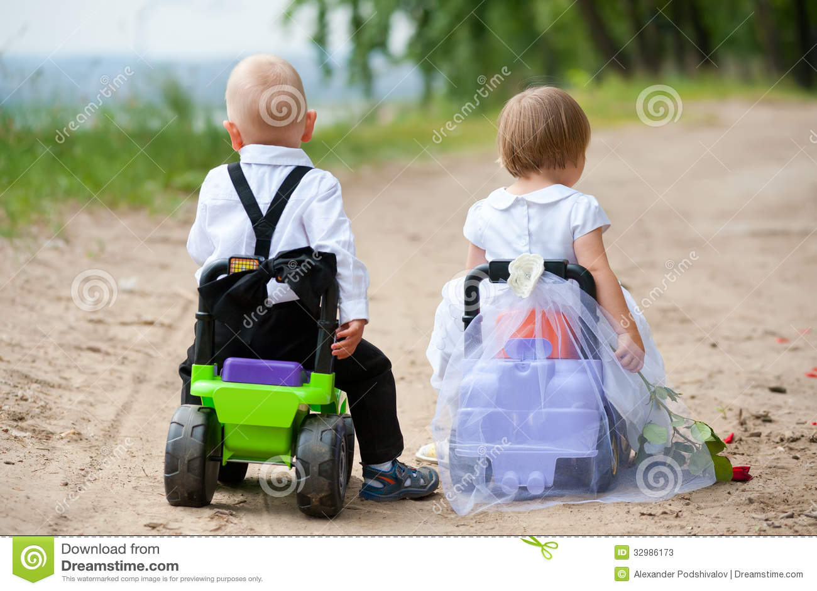 Toys For Boys Wedding : Wedding trip stock photos image