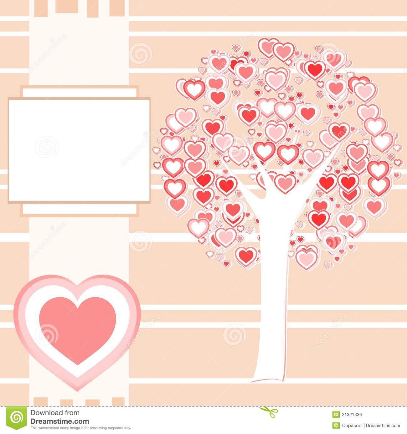 Wedding Or Valentine Background Card Vector Royalty Free Stock Image ...
