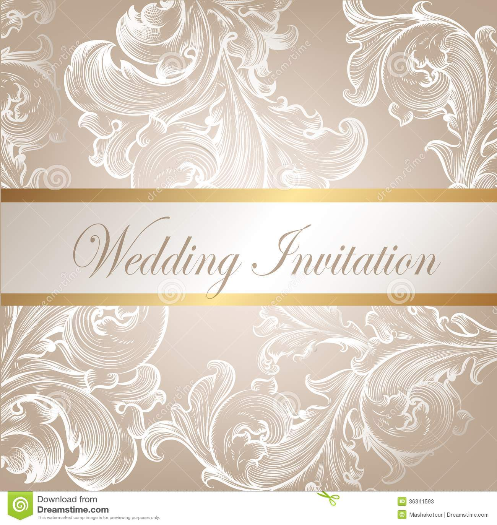 Wedding Vector Invitat...