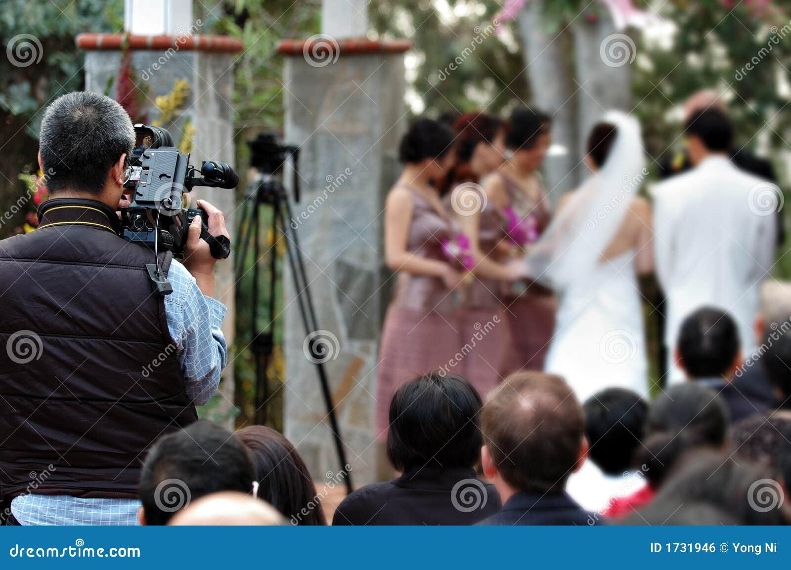 Wedding Videographer Royalty Free Stock Image Image 1731946