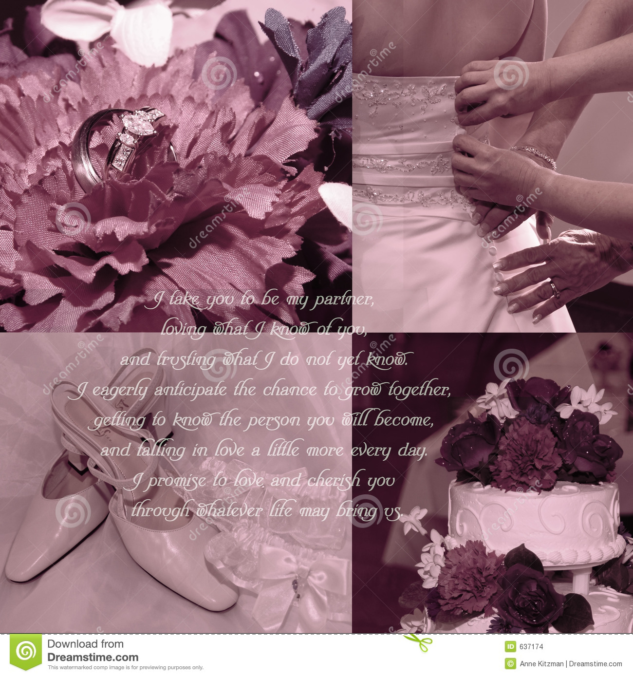 Wedding Vows Background