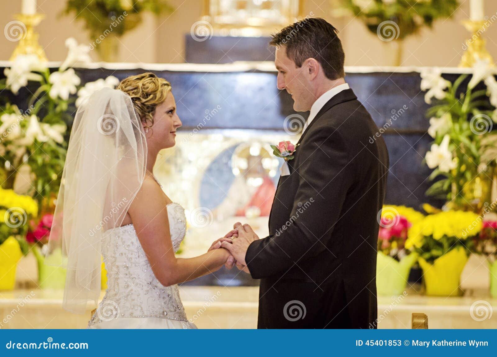 Wedding oath of the bride and groom 39
