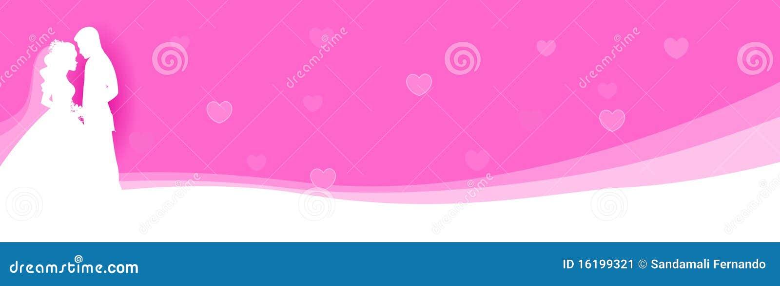 wedding web header    banner stock image