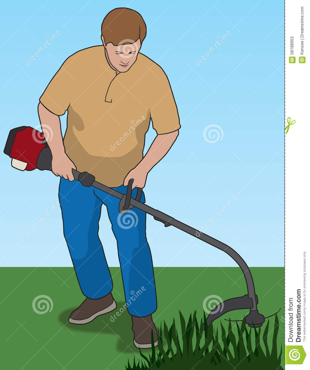 yard man trimmer