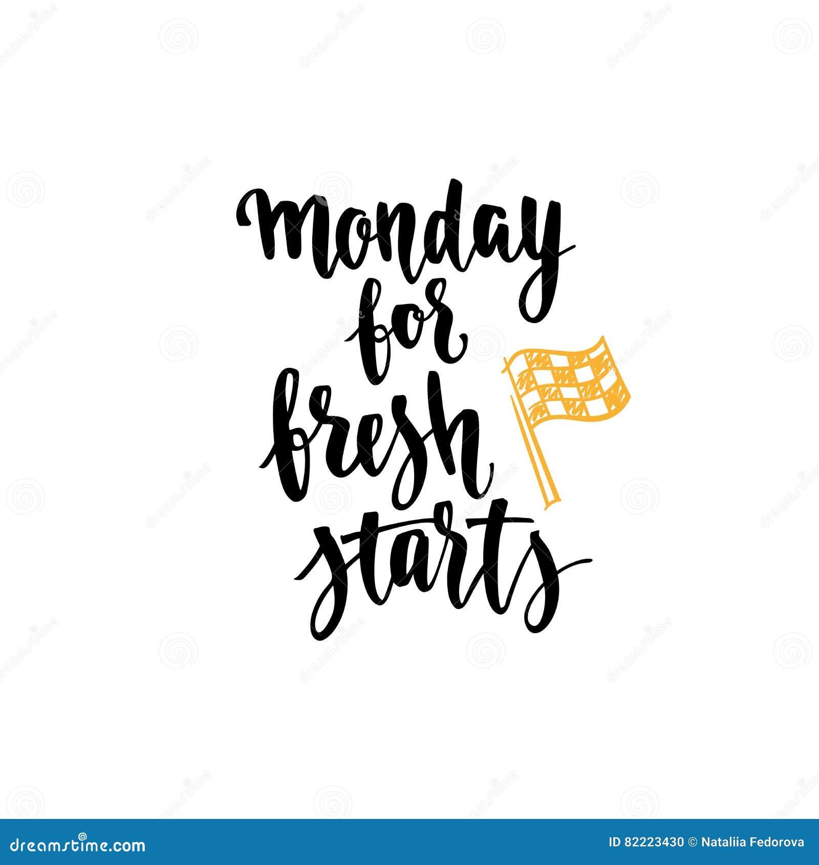 Week Quotes Week Days Motivation Quotesmondaystock Vector  Image 82223430