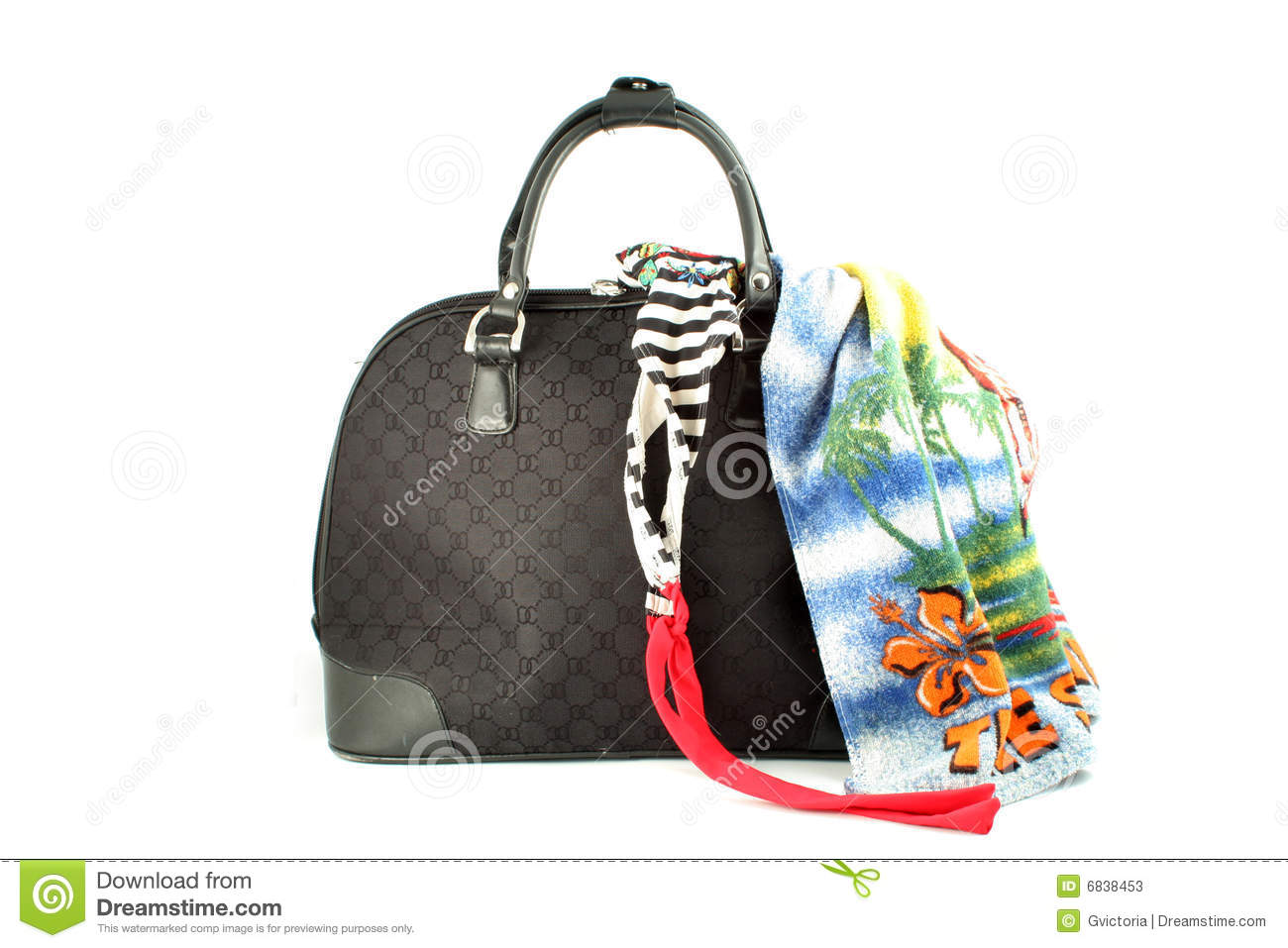 Weekend Getaway Bag Stock Photos - Image: 6838453