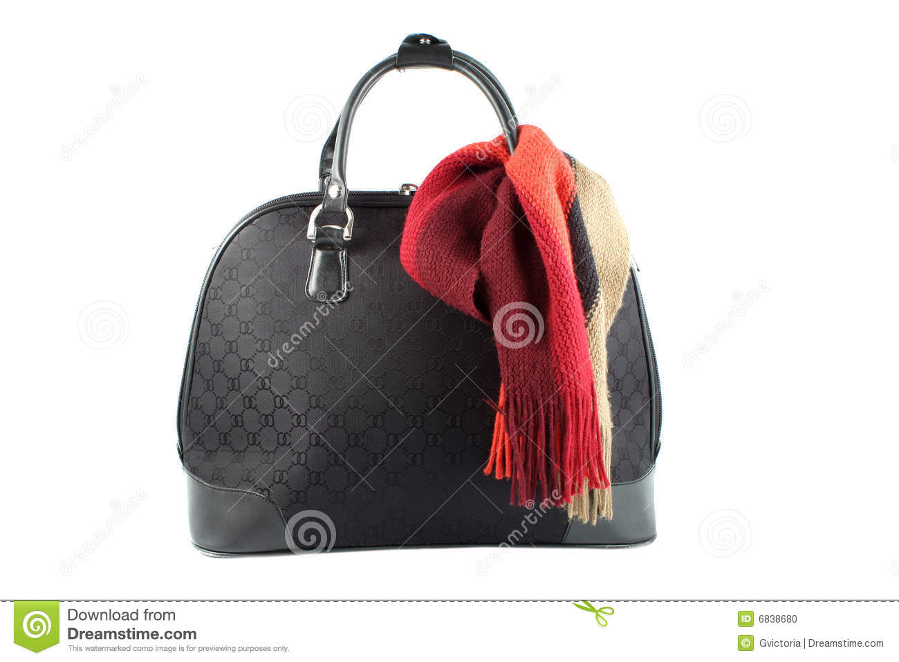 Weekend Getaway Bag Stock Photo - Image: 6838680