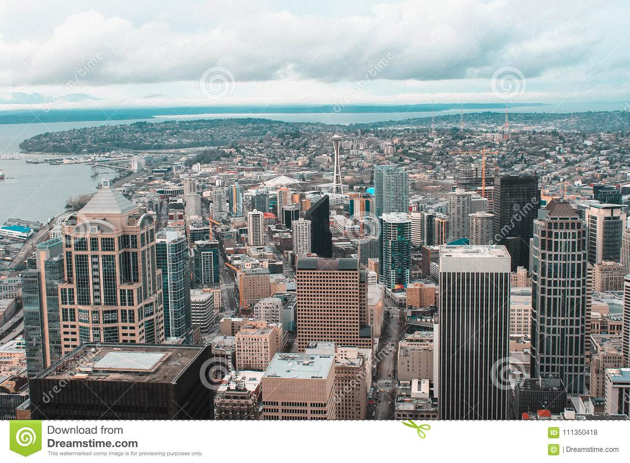 Weekend In Seattle - Sky View Observatory At Columbia Center