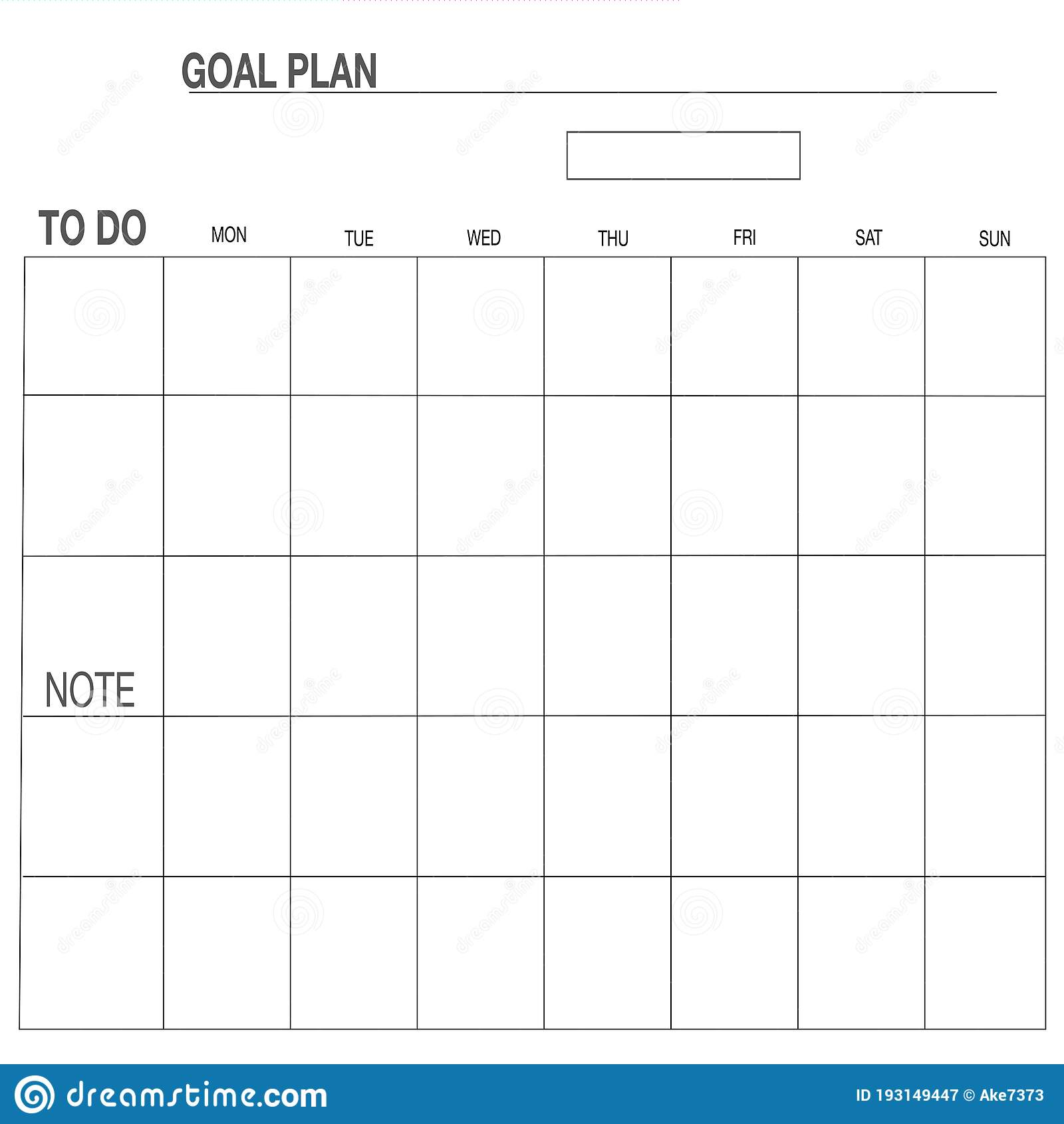 Weekly Planner Perfect For Good Notes, Notability, Noteshelf Etc ...