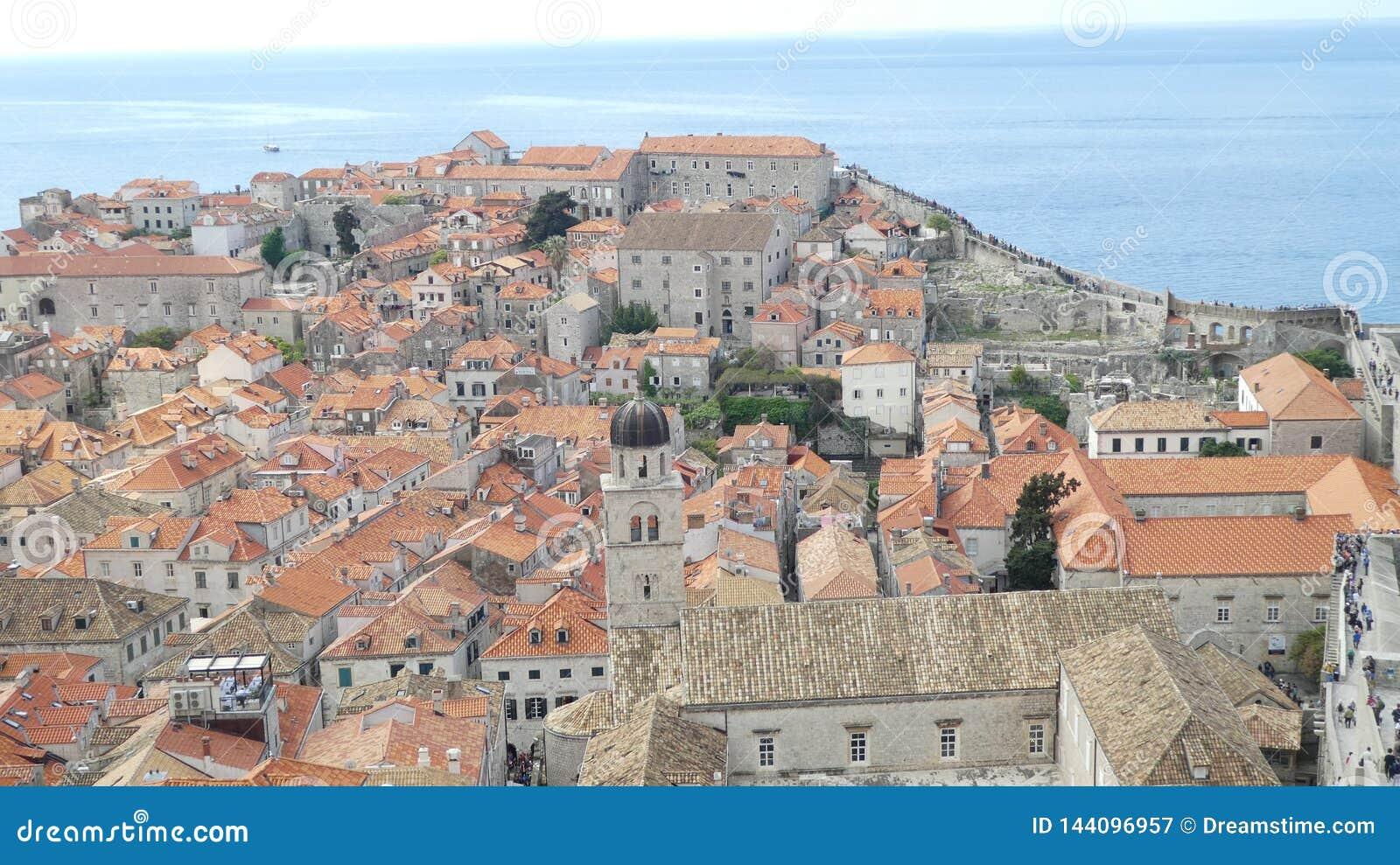 Weergeven van oude Dubrovnik