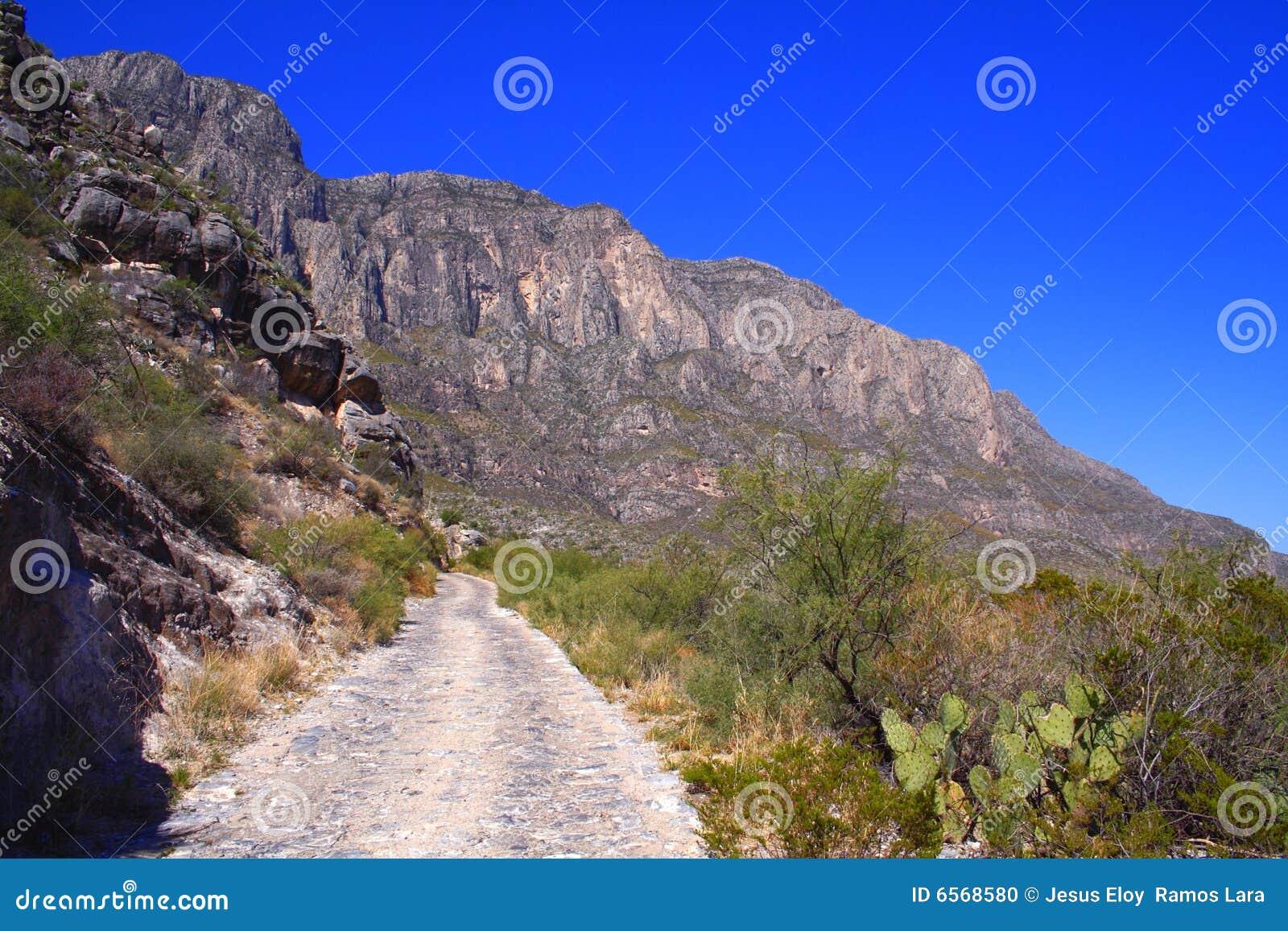 Weg aan bergen