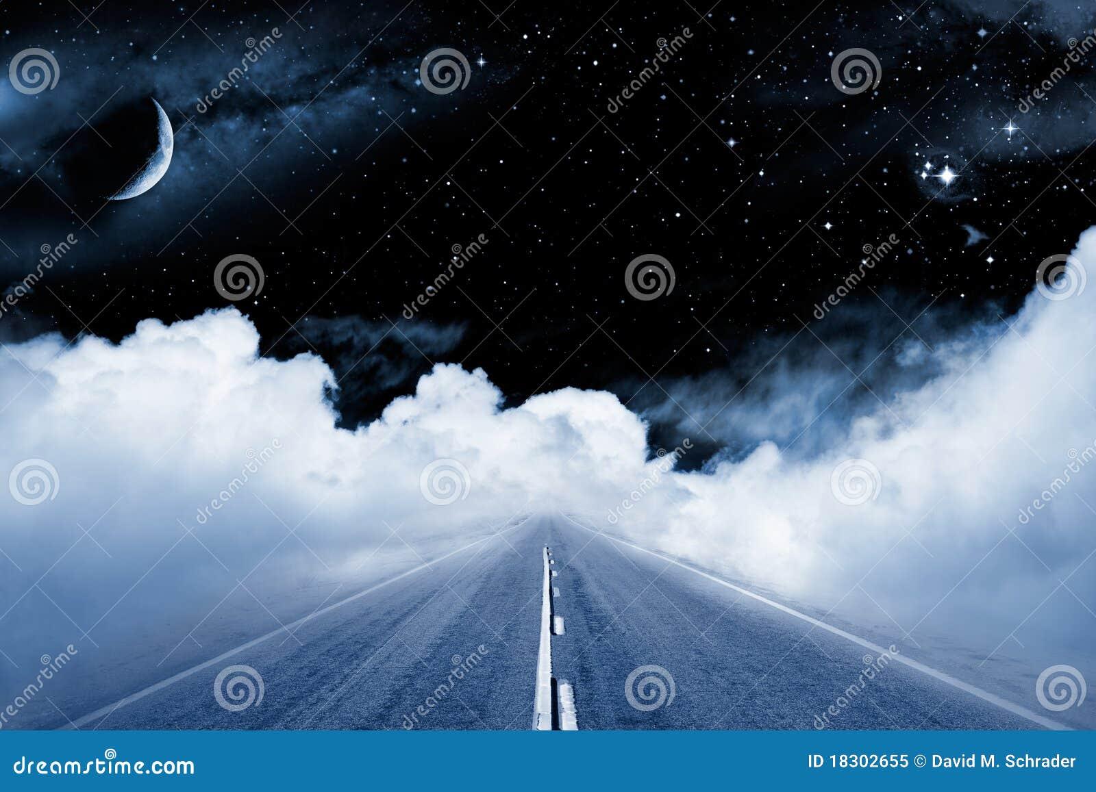 Weg aan de Melkweg