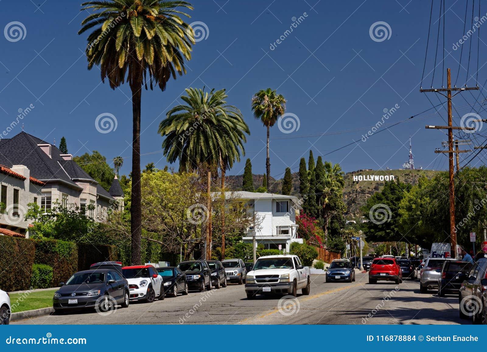 Weg aan het Hollywood-teken