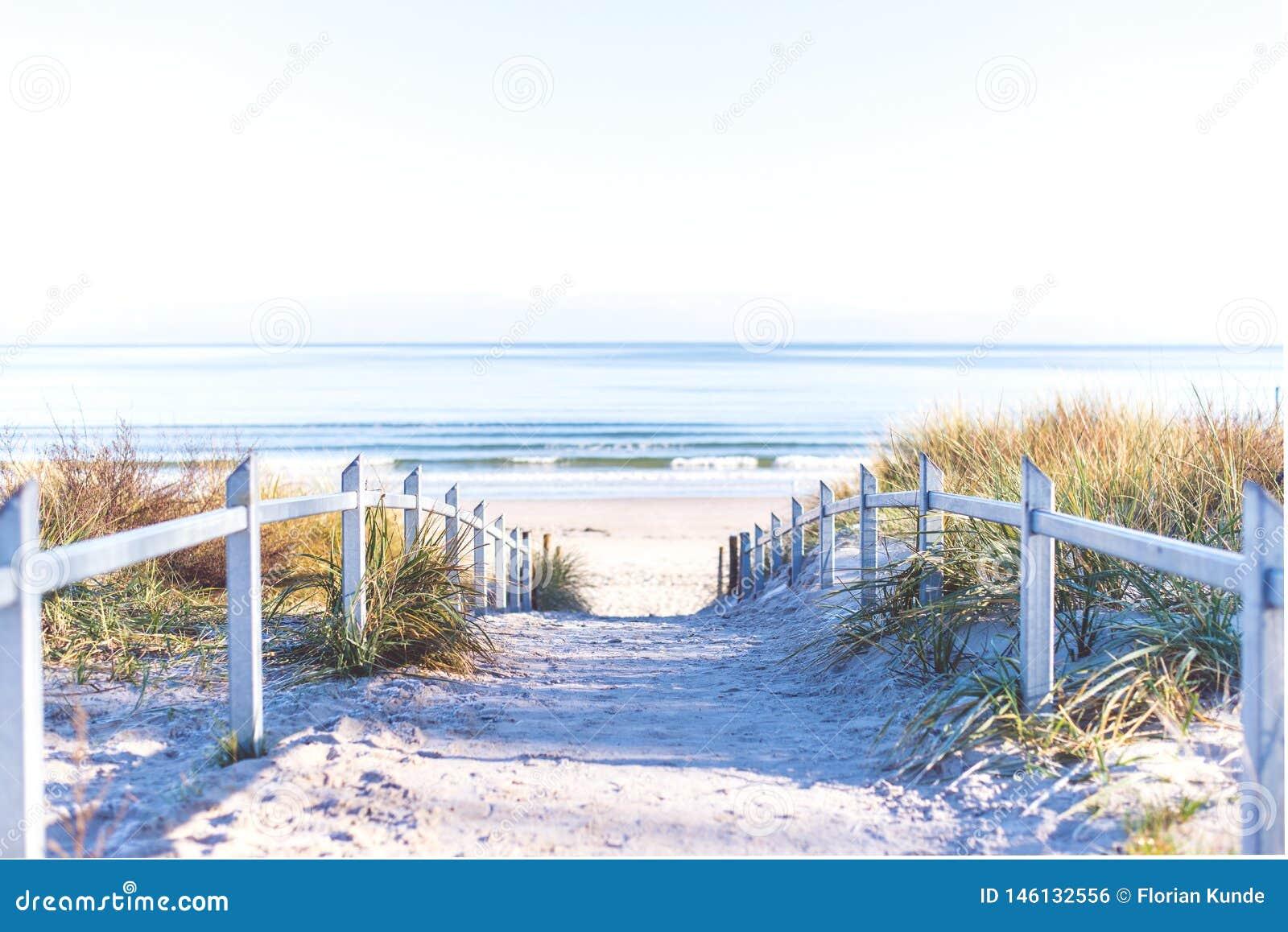 Weg aan het Strand bij RÃ ¼ gen