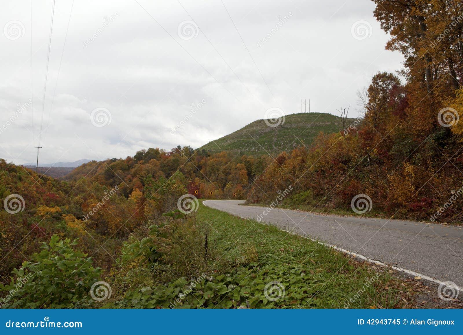 Weg in Appalachia