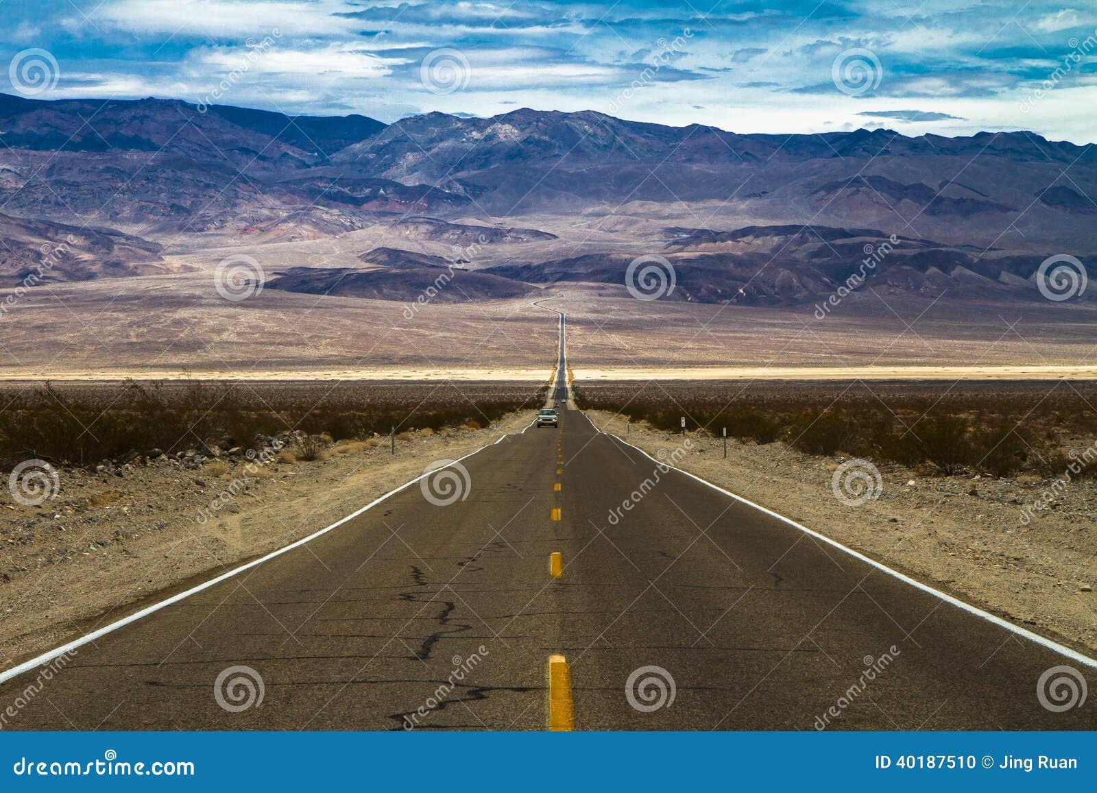 Weg in Doodsvallei