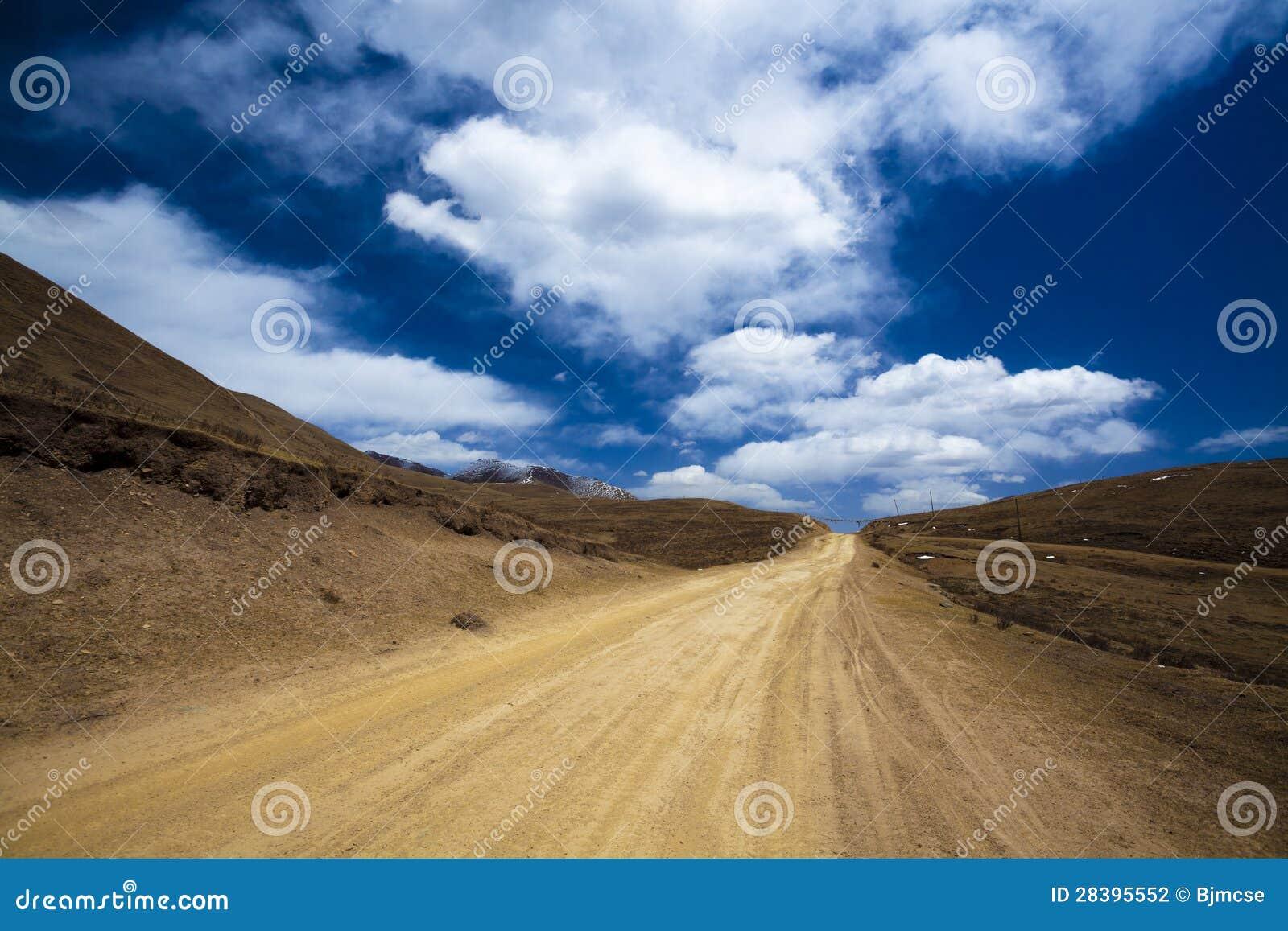 Weg op Tibet