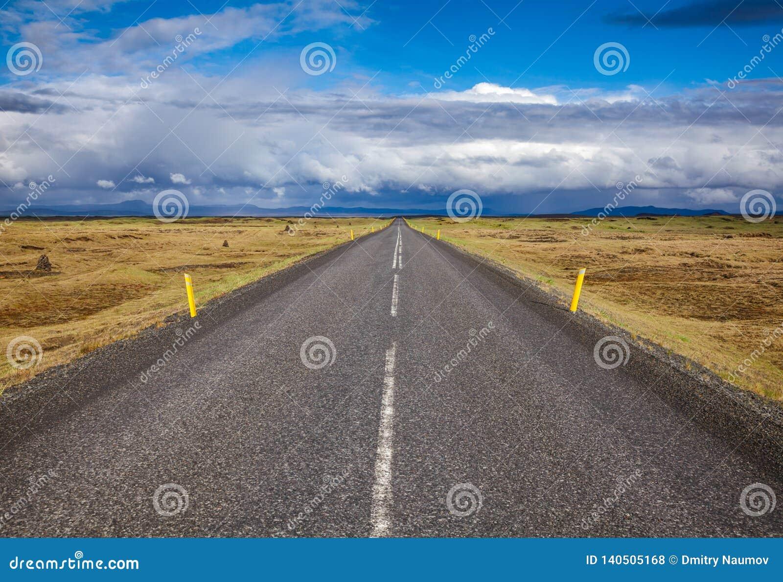 Weg 1 Ring Road Northeastern Iceland Scandinavia